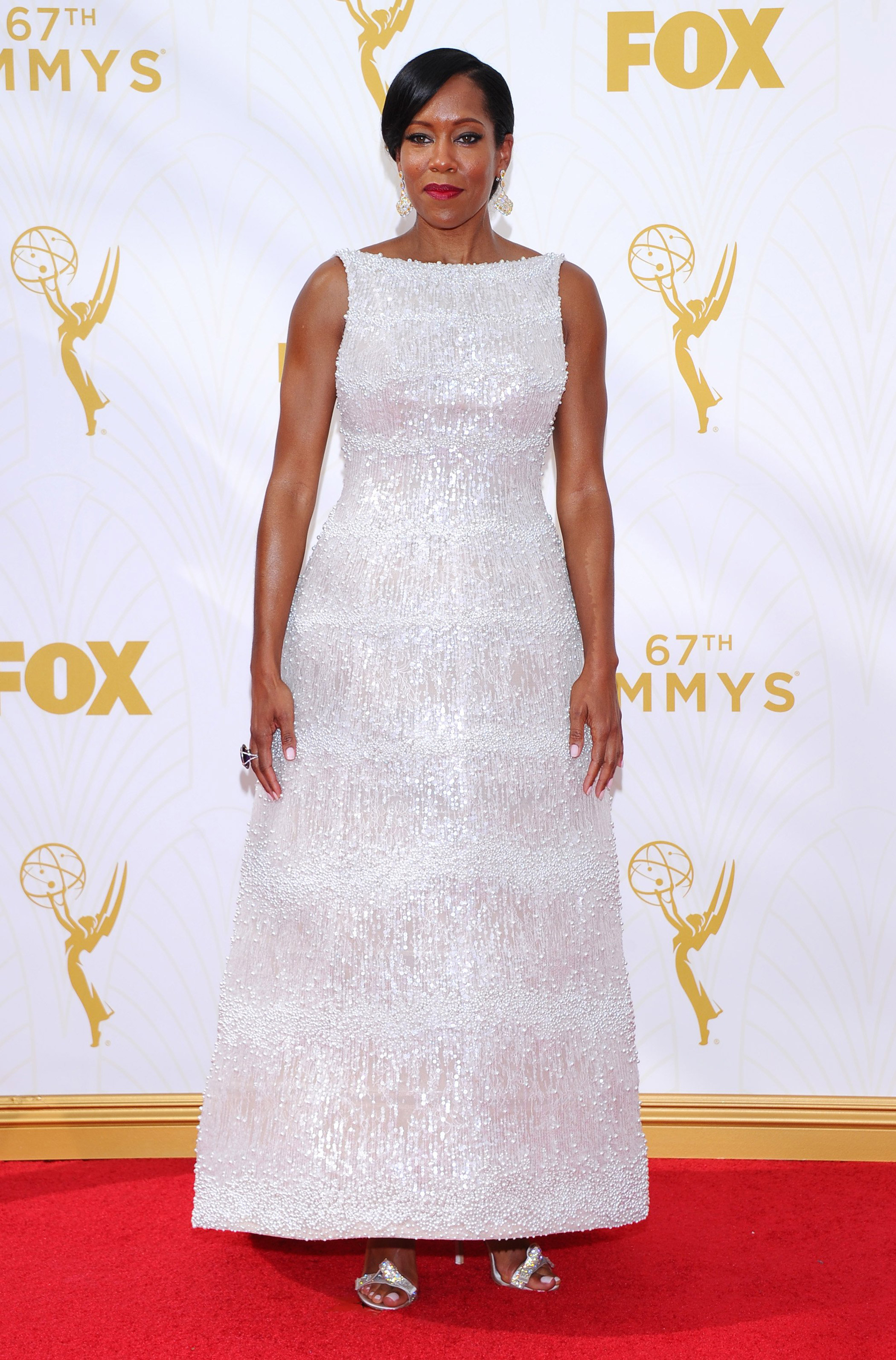 Regina King at the 67th Emmy Award on Sept. 20, 2015 in Los Angeles.