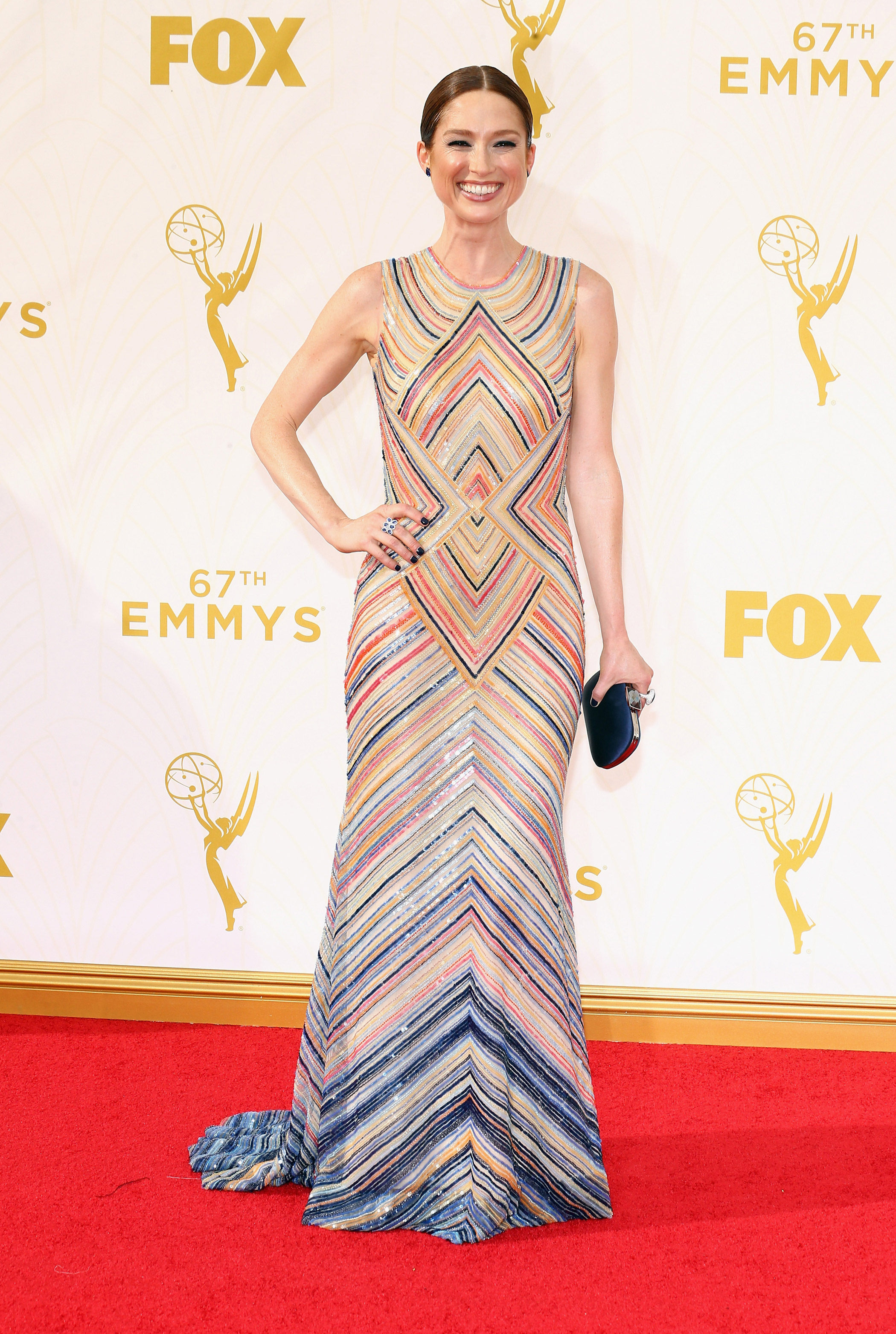 Ellie Kemper at the 67th Emmy Award on Sept. 20, 2015 in Los Angeles.