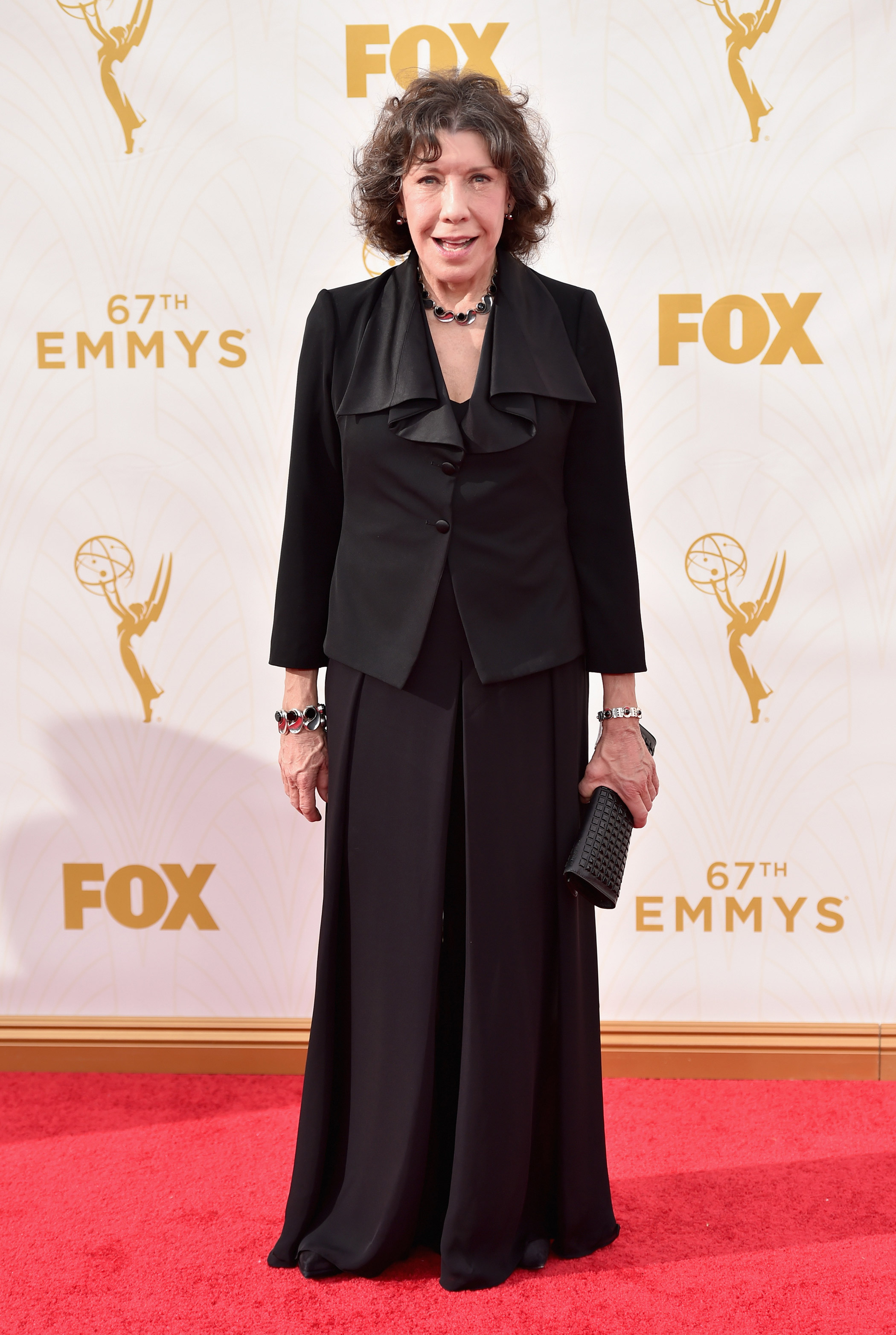 Lily Tomlin at the 67th Emmy Award on Sept. 20, 2015 in Los Angeles.