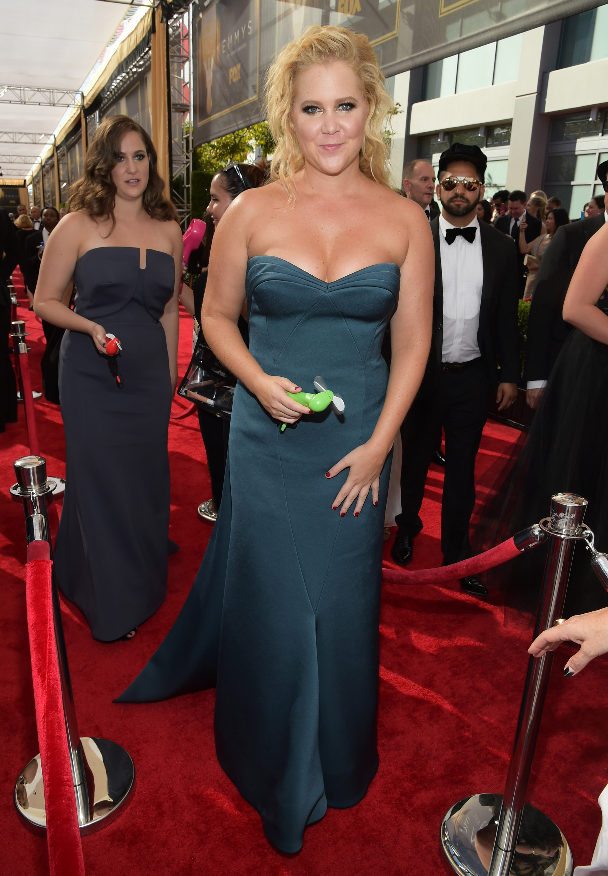 Amy Schumer at the 67th Emmy Award on Sept. 20, 2015 in Los Angeles.