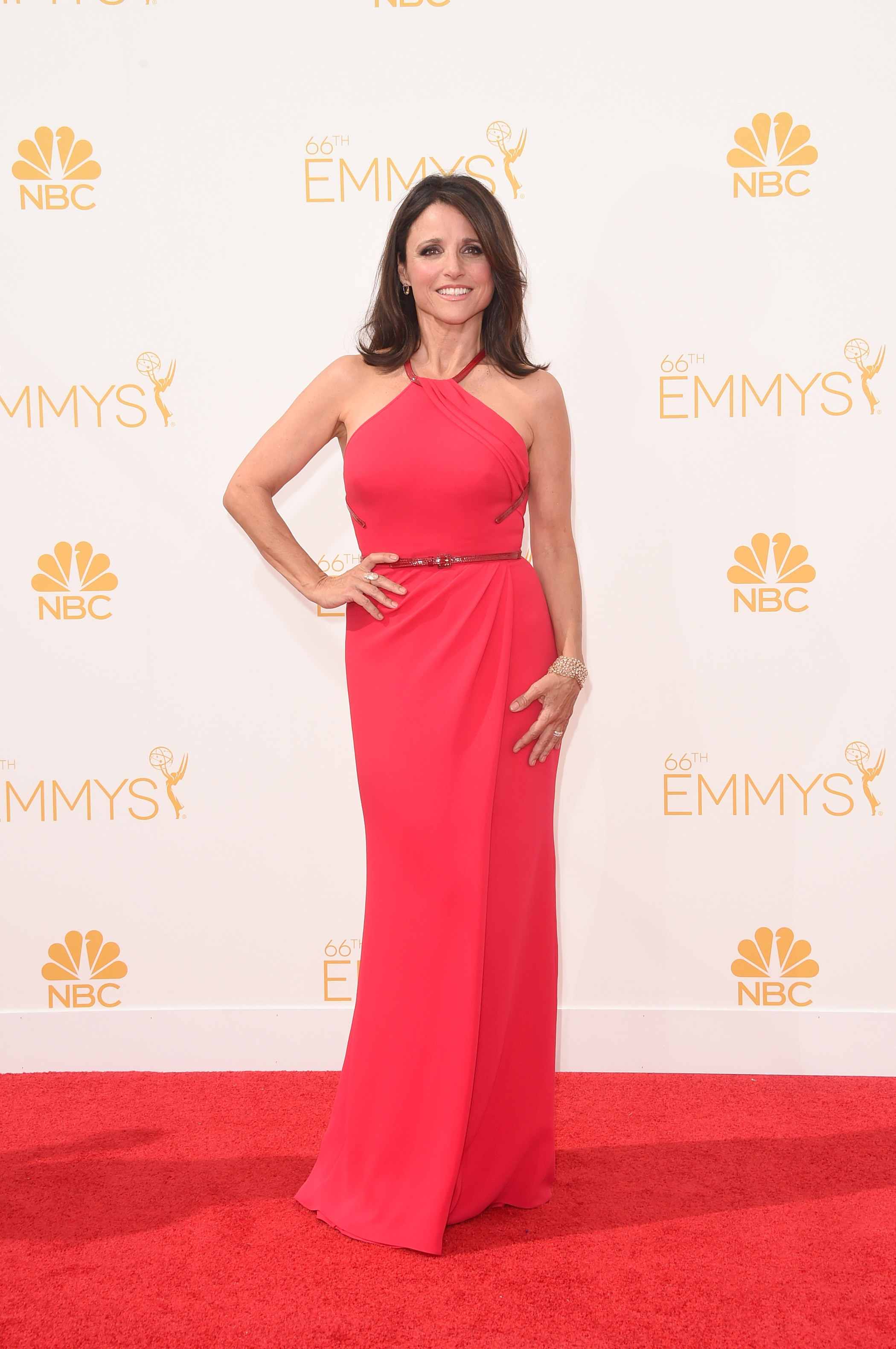 Julia Louis-Dreyfus at the 67th Emmy Award on Sept. 20, 2015 in Los Angeles.