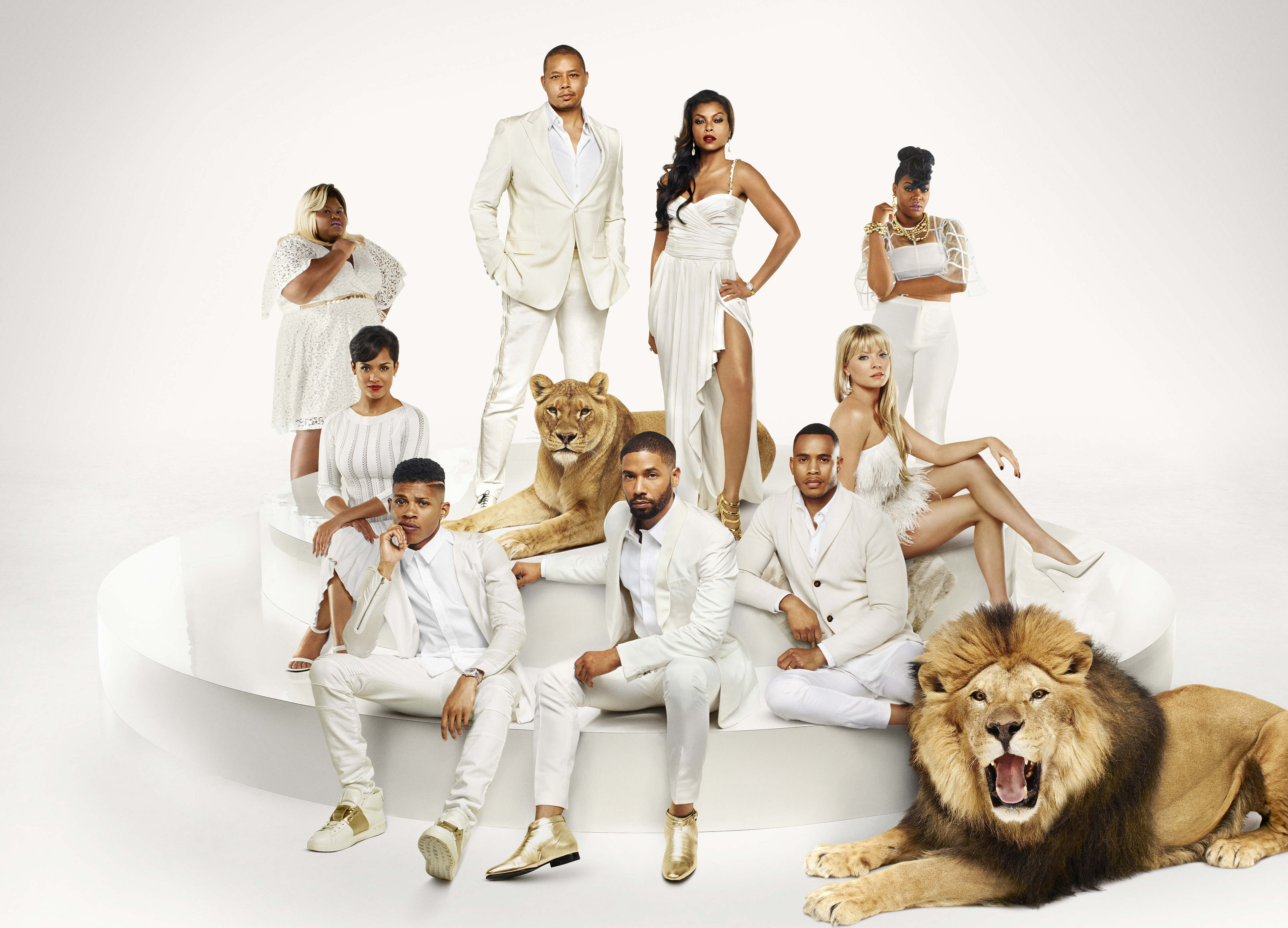 Season 2 cast of Empire.