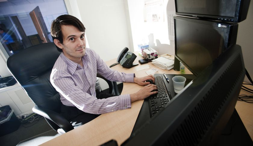 Martin Shkreli is founder and CEO of Turing Pharmaceuticals.