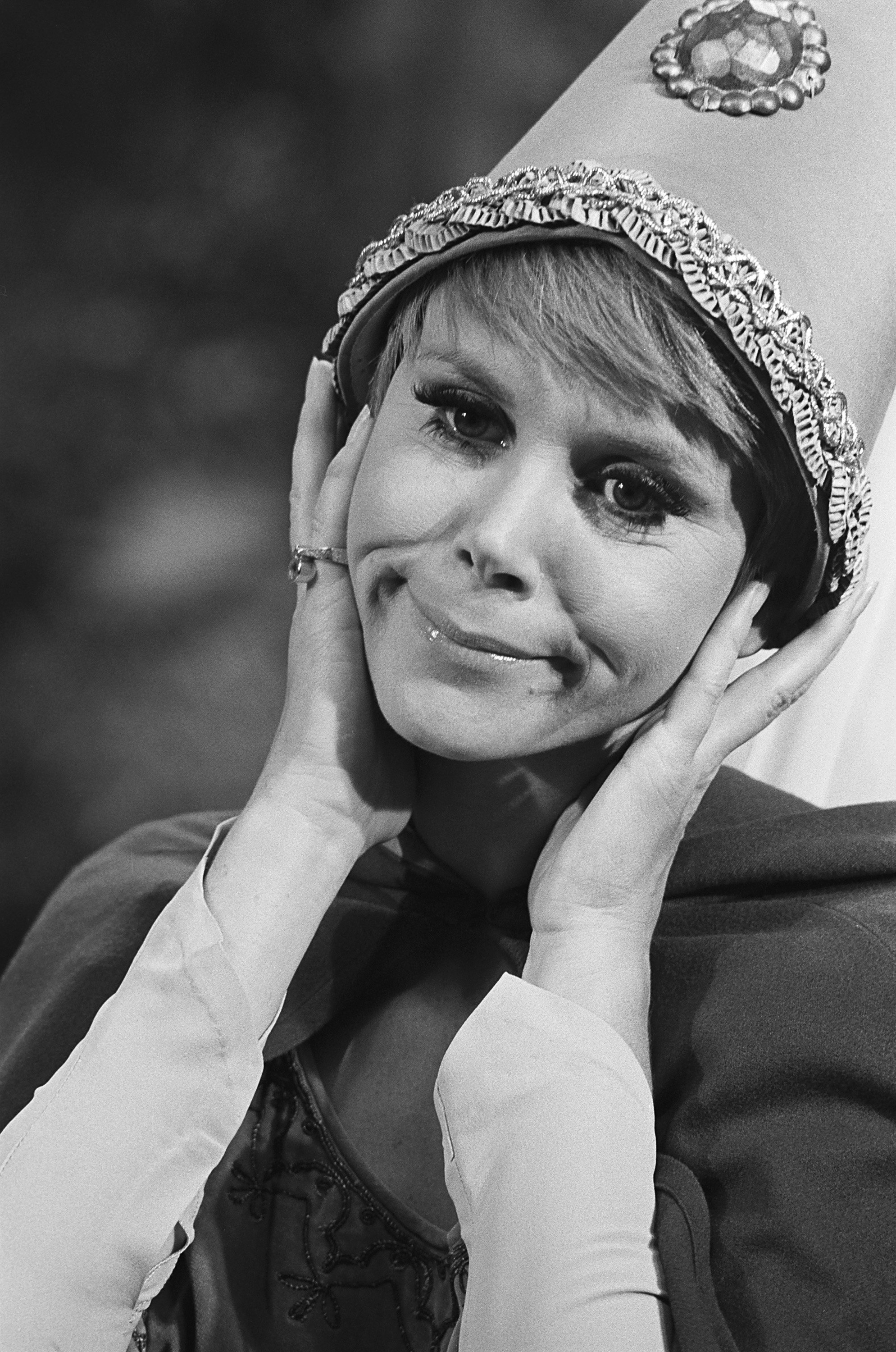 Judy Carne on Rowan & Martin's Laugh-In, aired on Oct. 28, 1968