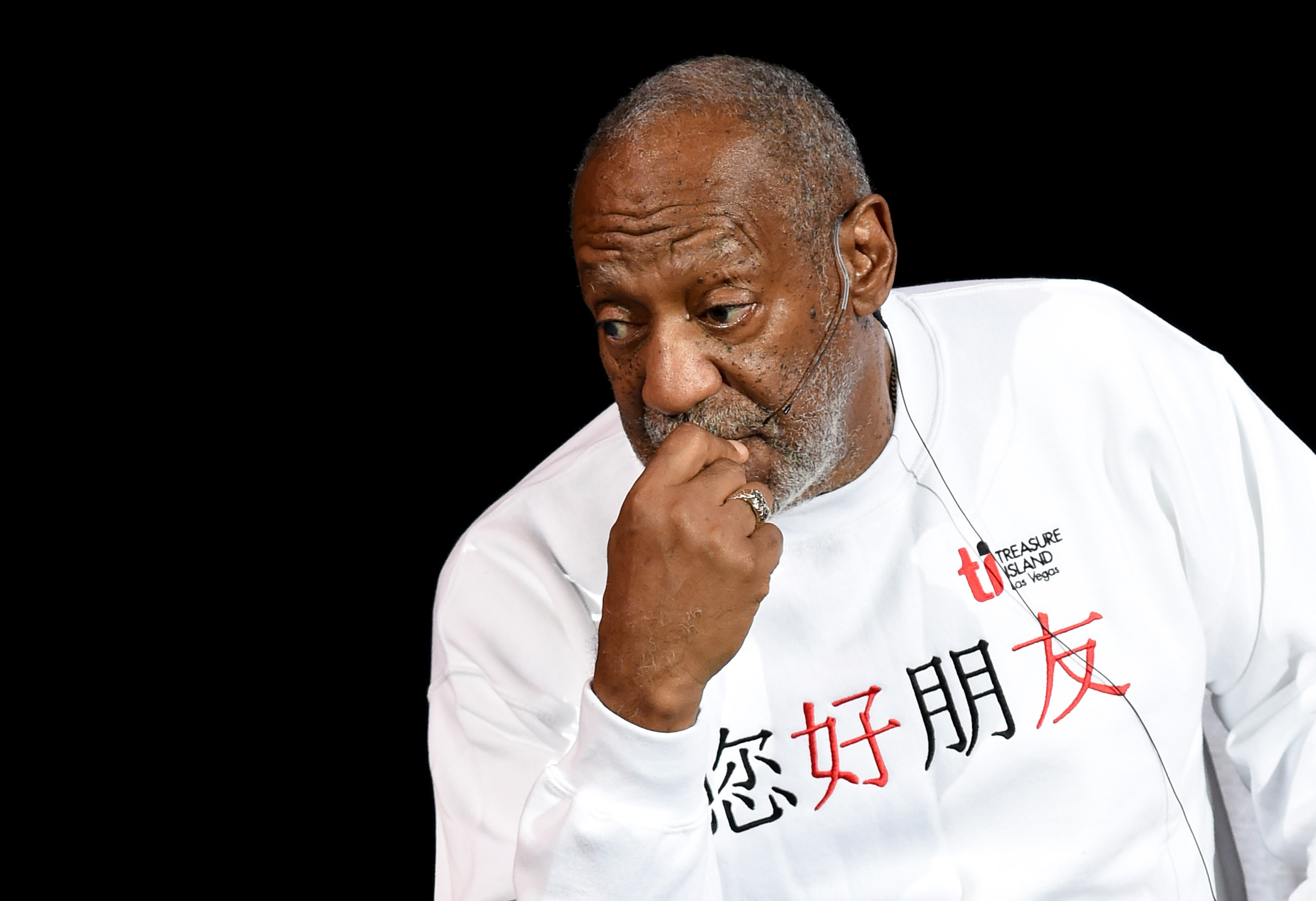 Bill Cosby performs at the Treasure Island Hotel and Casino on Sept. 26, 2014 in Las Vegas.