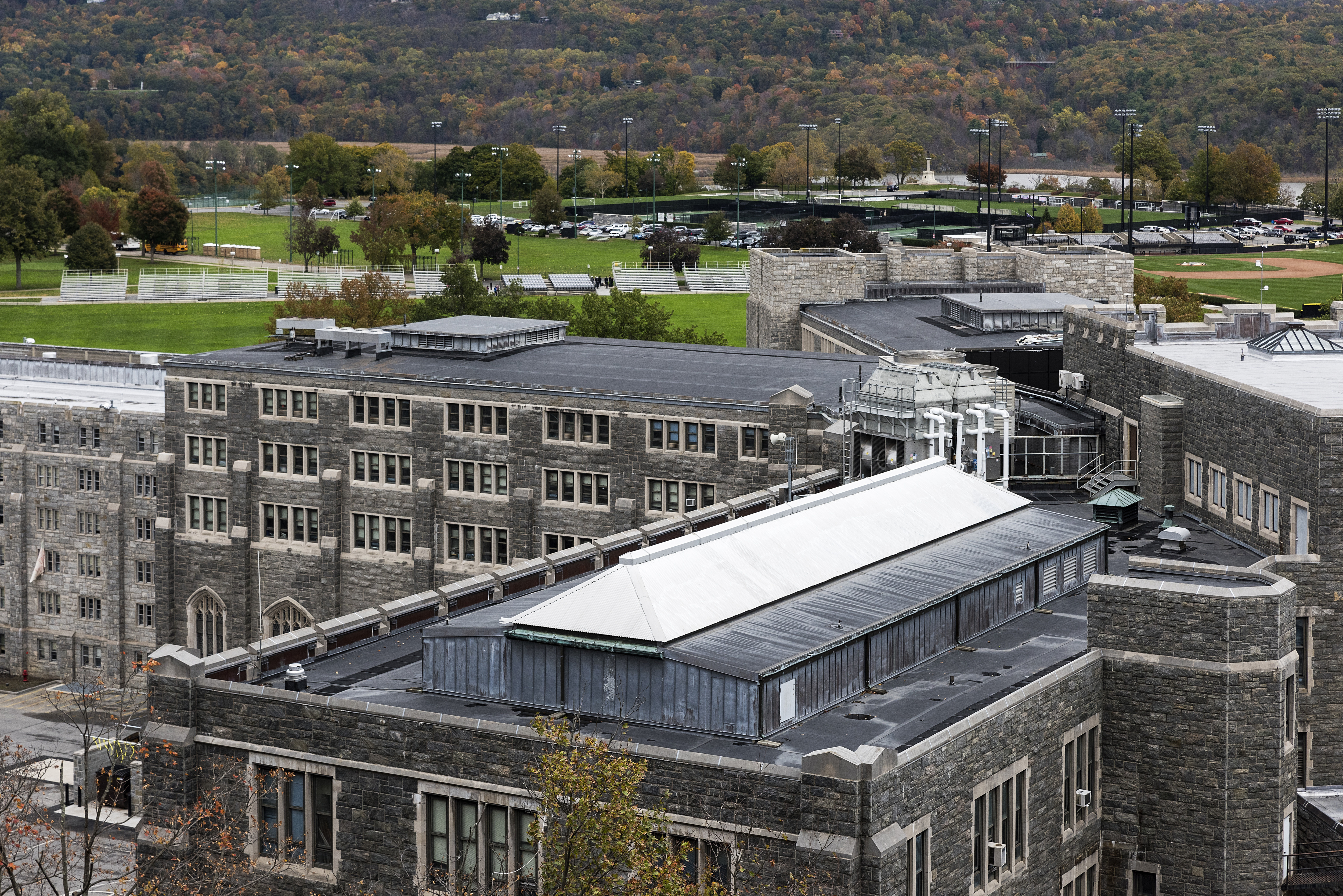 The West Point Military Academy campus.
