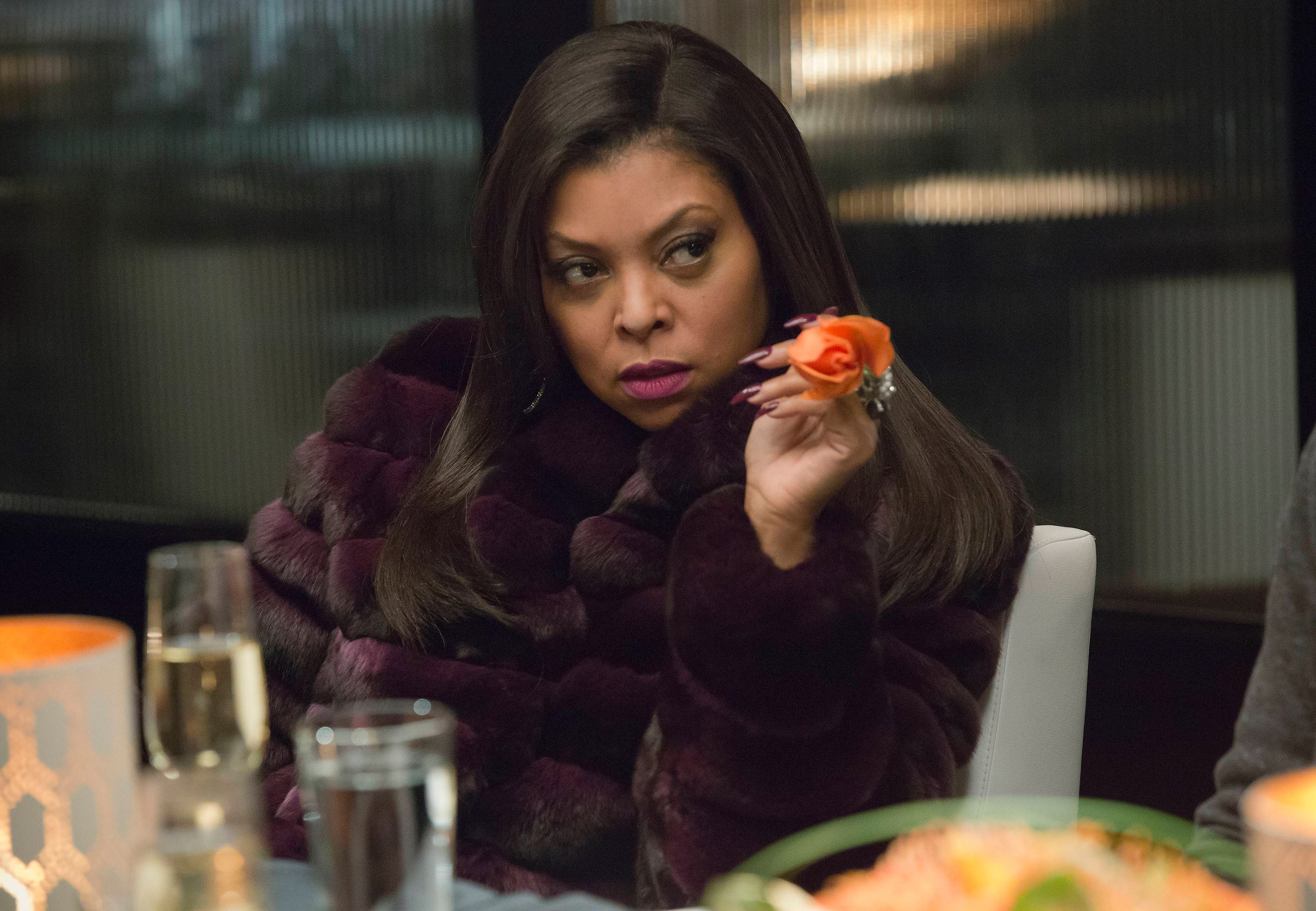 EMPIRE: Cookie (Taraji P. Henson) holds a secret in the  Out Damned Spot  episode of EMPIRE airing Wednesday, Feb. 11, 2015 (9:01-10:00 PM ET/PT) on FOX. (Photo by FOX via Getty Images)