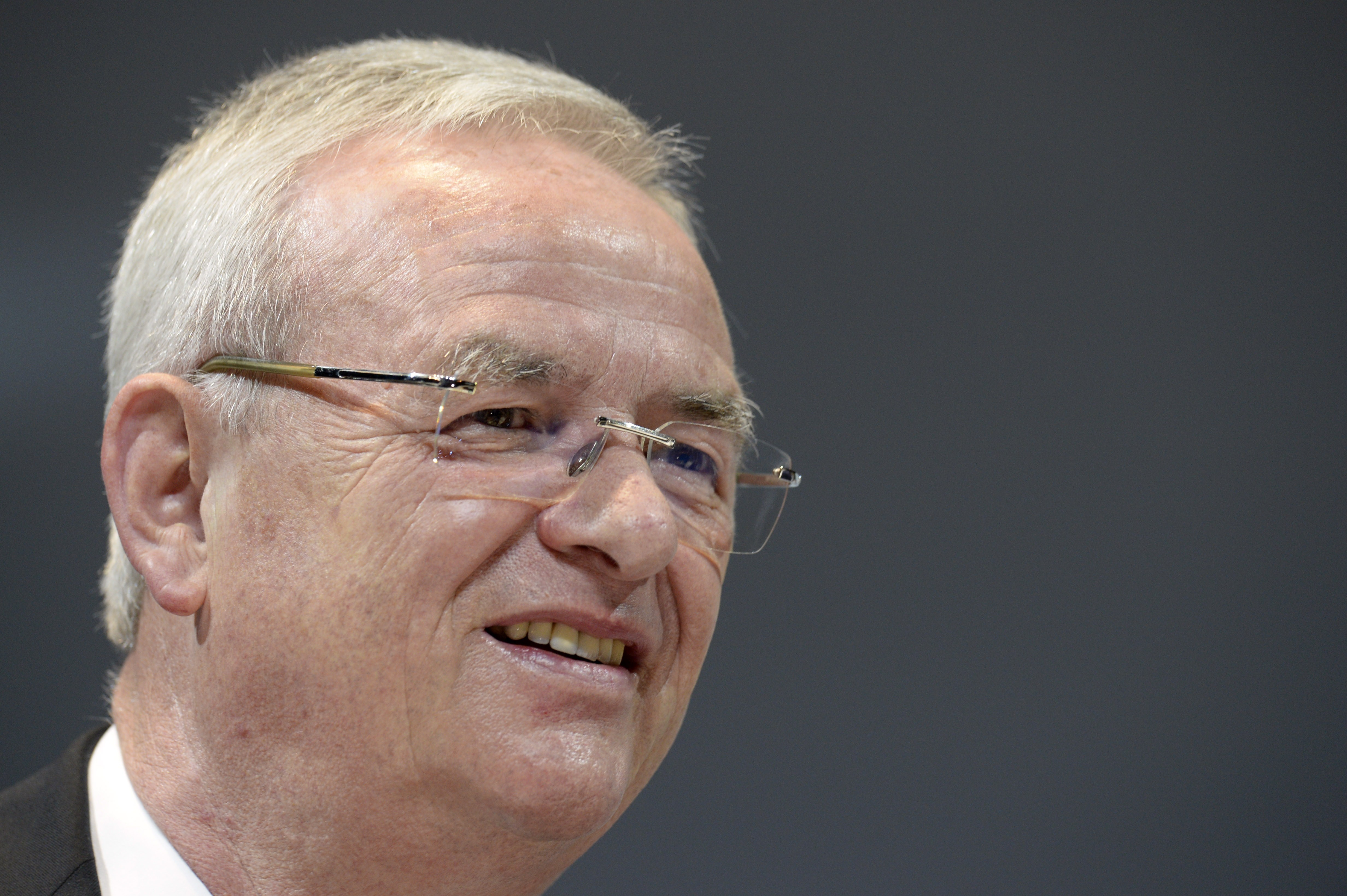 VW's CEO Martin Winterkorn.