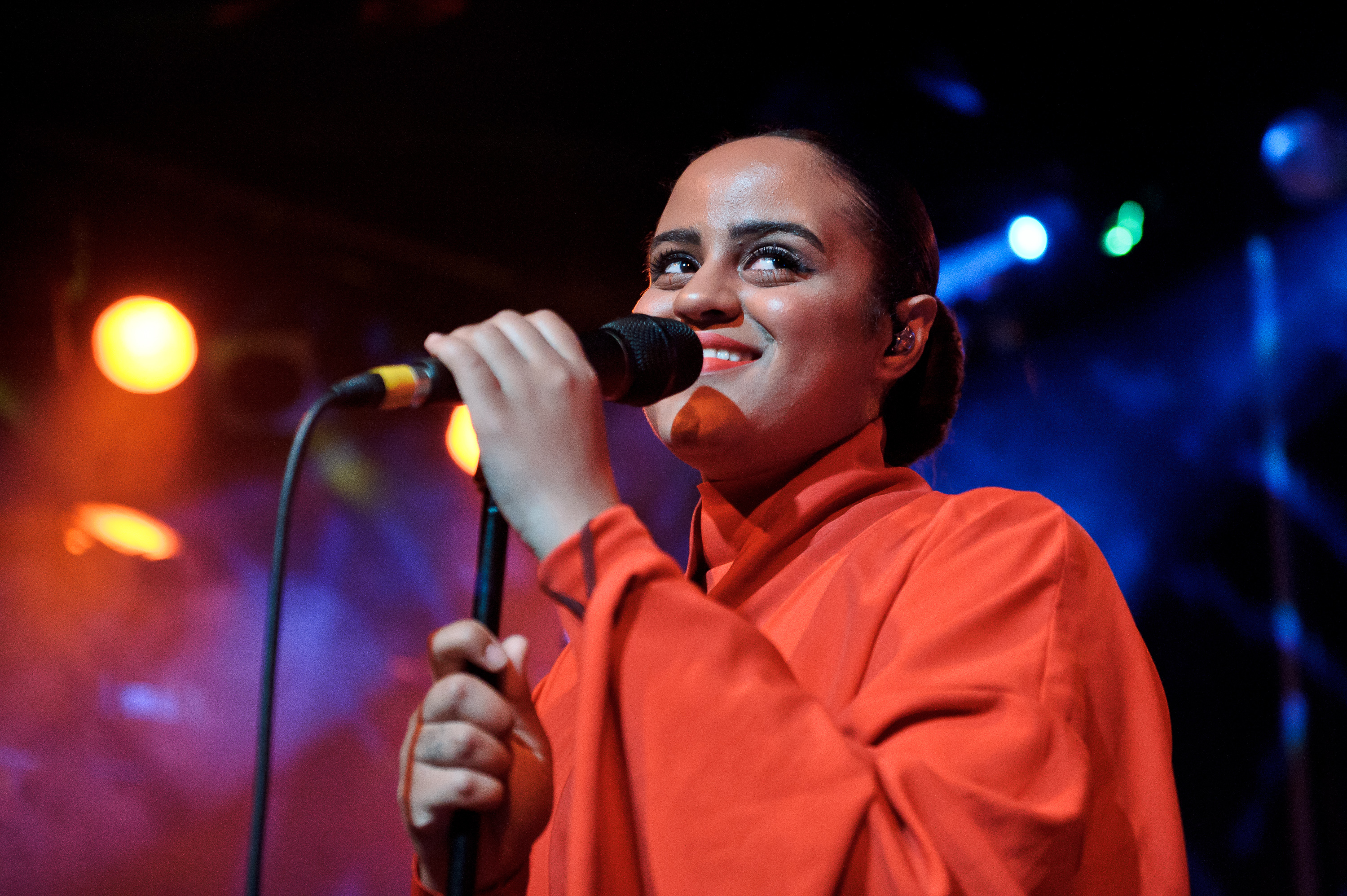 Seinabo Sey performs at Scala on May 20, 2015 in London, England.