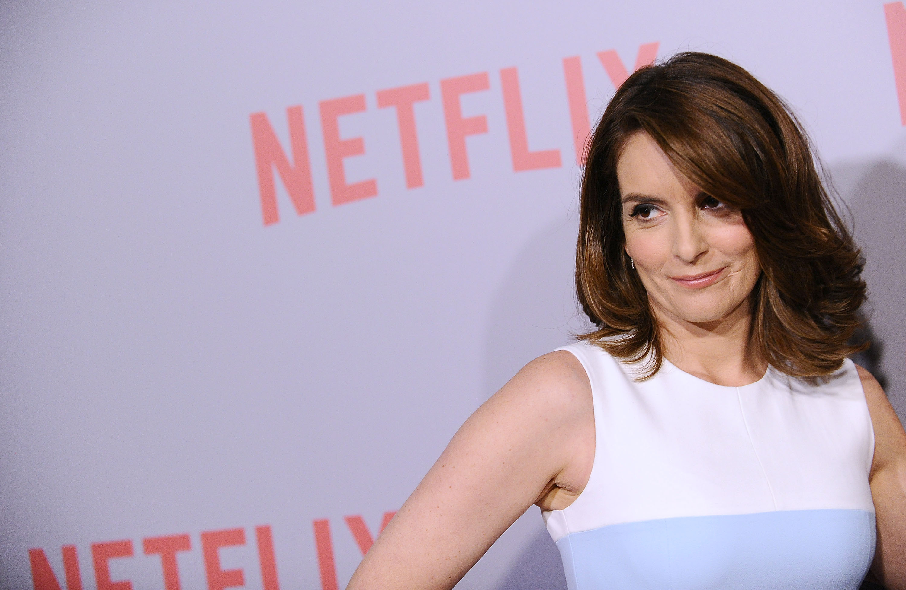 Tina Fey attends the FYC screening of Netflix's  Unbreakable Kimmy Schmidt  at Pacific Design Center on June 7, 2015 in Los Angeles.