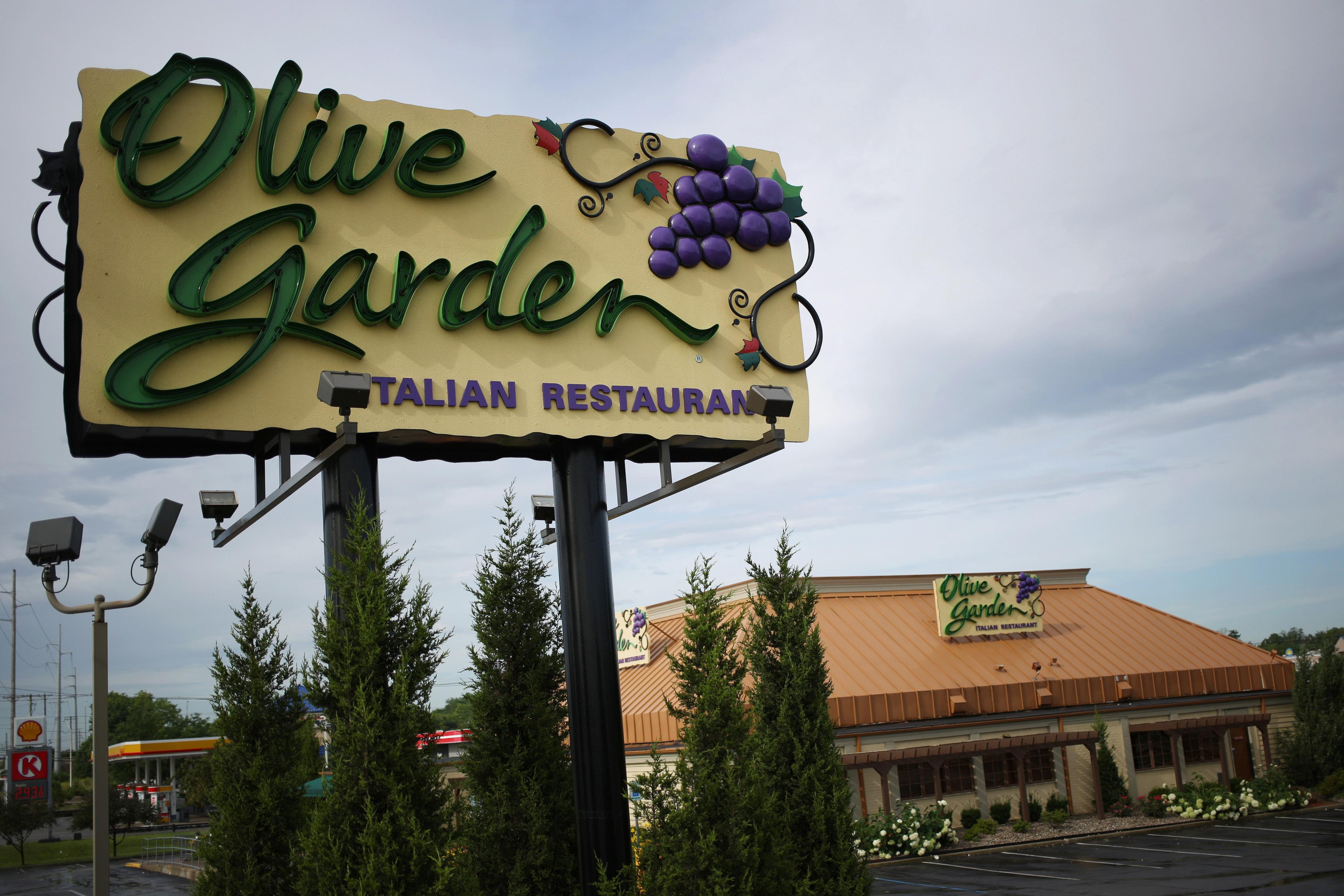 Olive Garden restaurant in Louisville, Kentucky, on June 22, 2015.