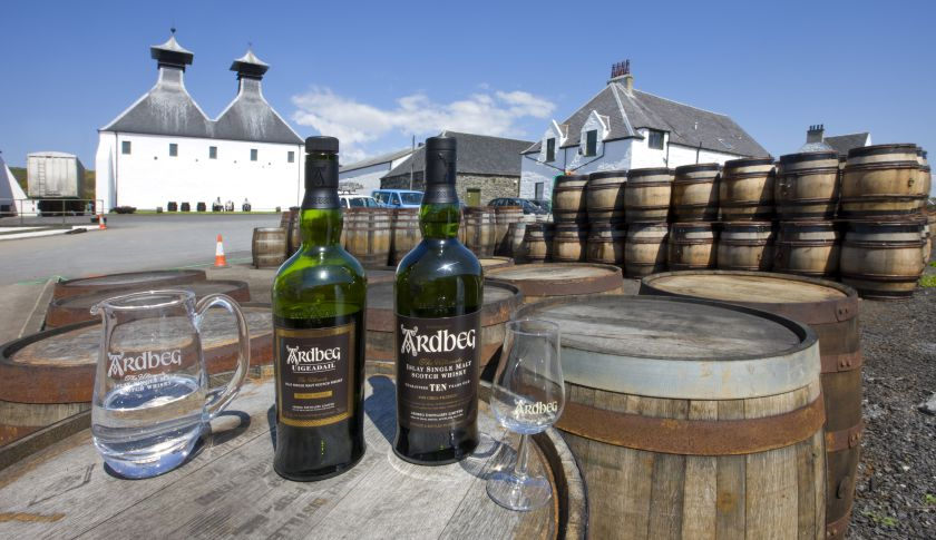 Ardbeg Distillery, Islay.