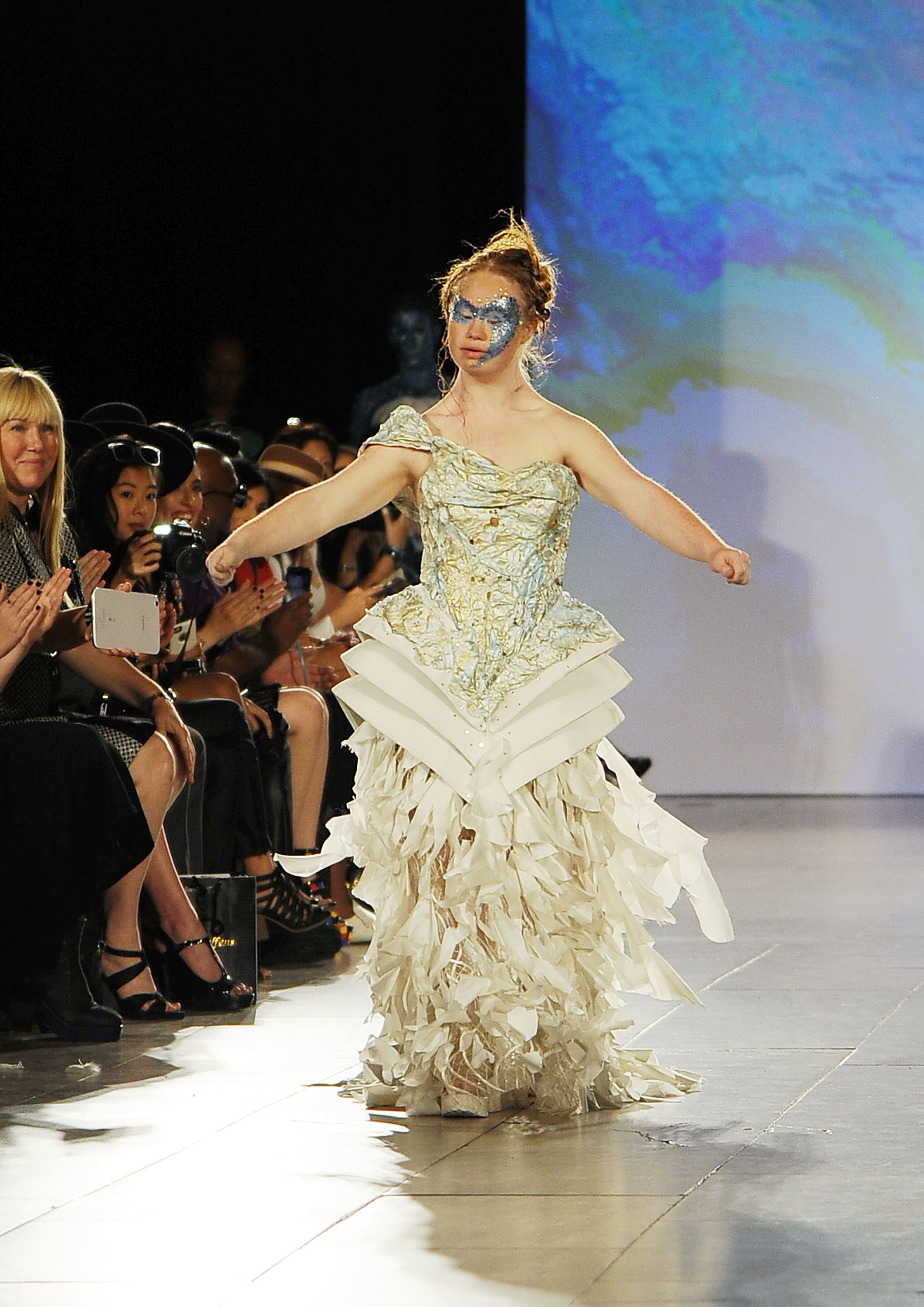 New York Fashion Week Down Syndrome Model Time
