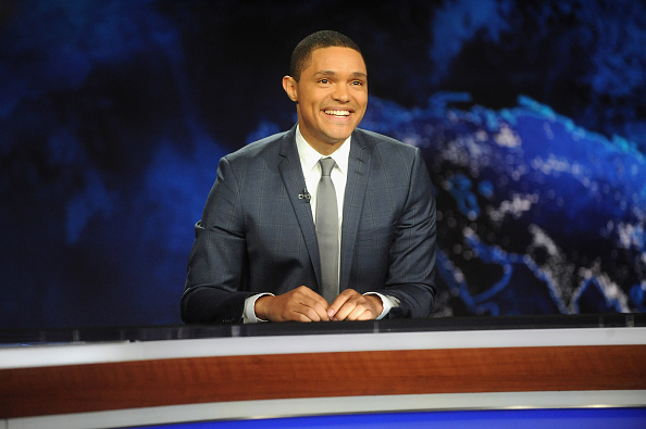 The Daily Show with Trevor Noah  premieres on Sept. 28, 2015, in New York City