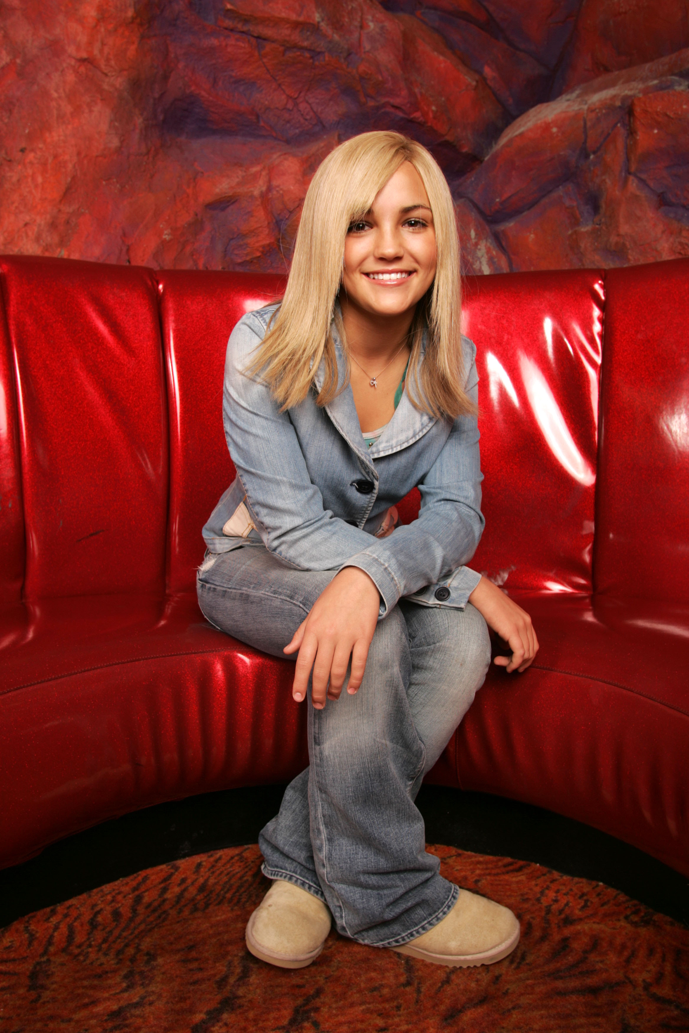 Actress Jamie Lynn Spears poses for a portrait on Jan. 6, 2005 in New York City.