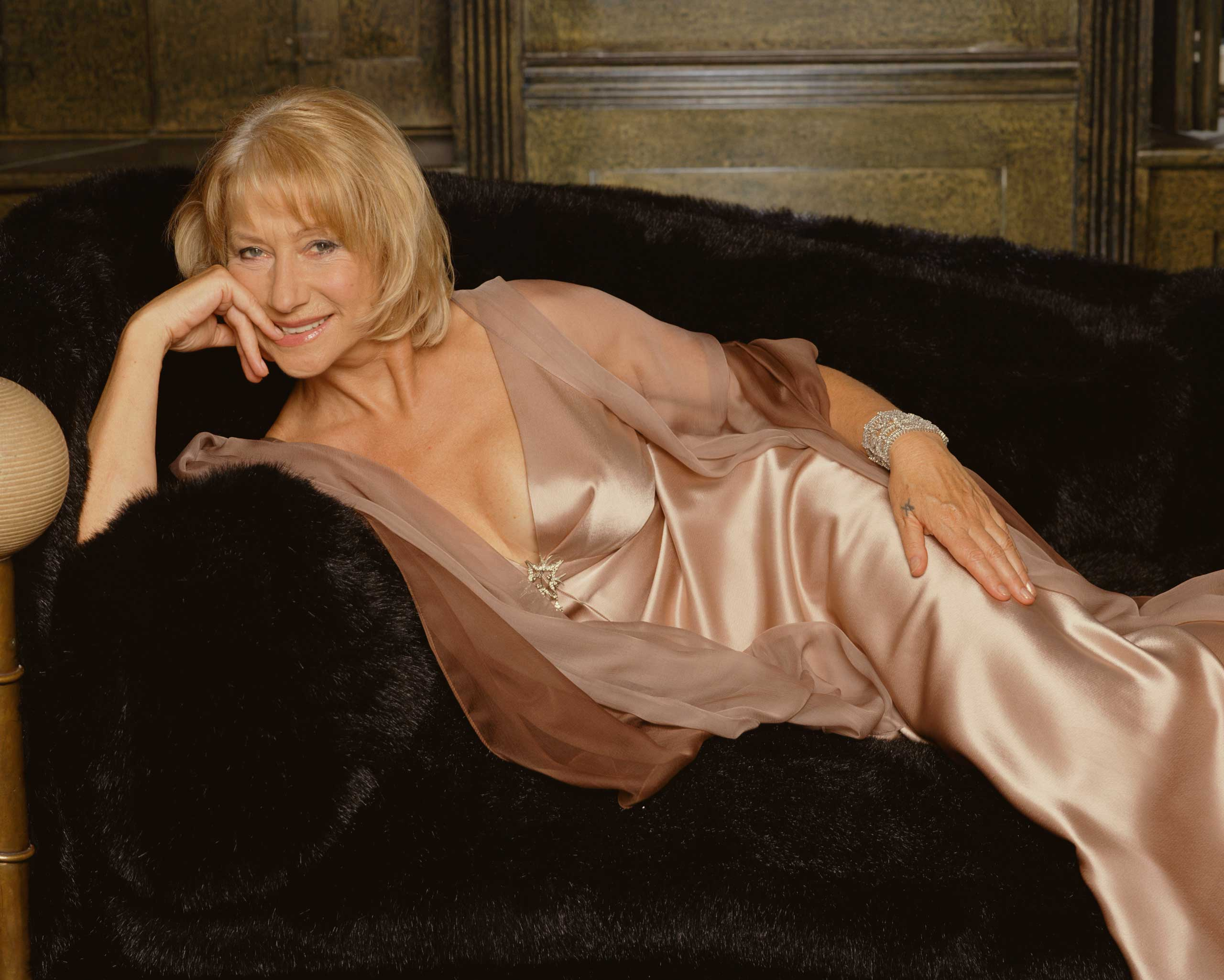 <b>Helen Mirren</b>                                   Photographed for TV Times in 2005, after winning the TV Times Award for its readers' All-Time Favourite Actress.