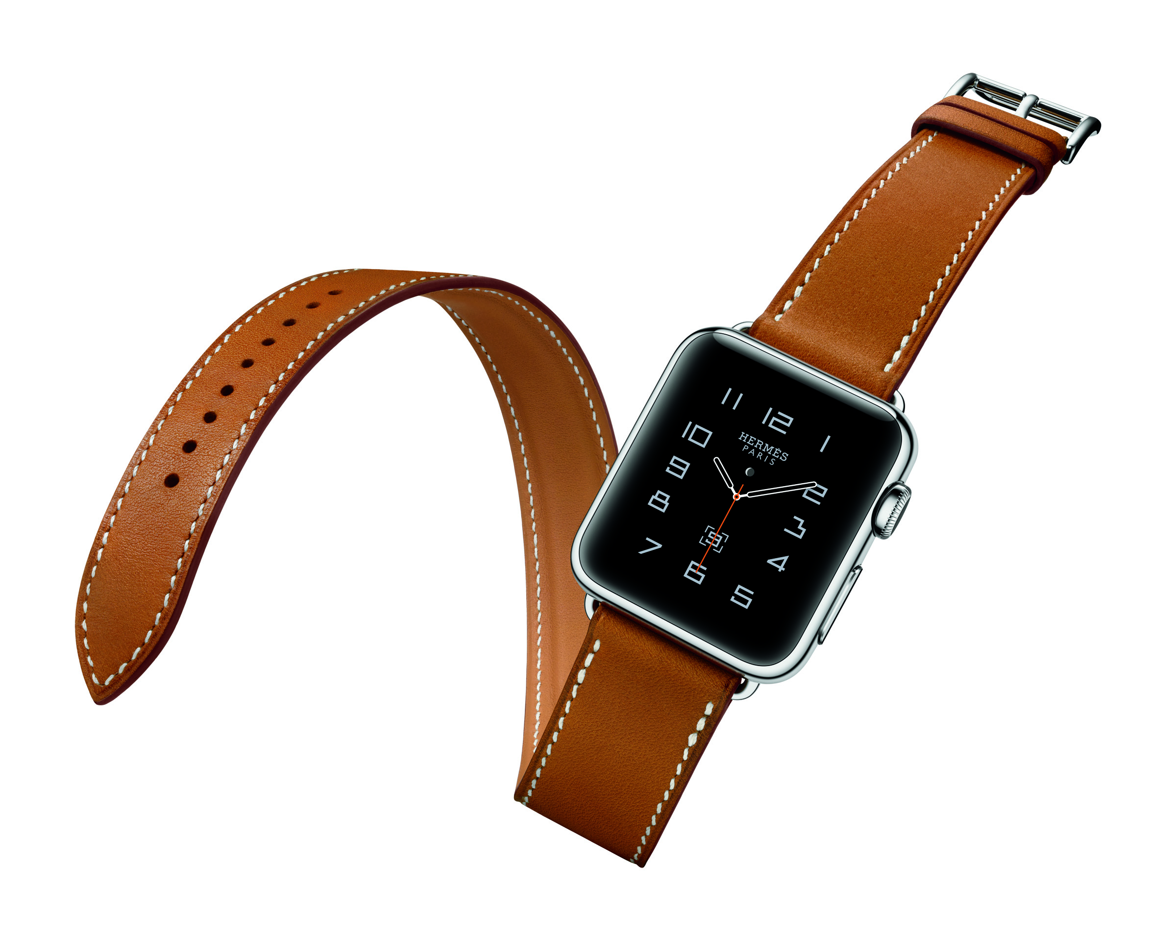 Apple watch with Hermès band