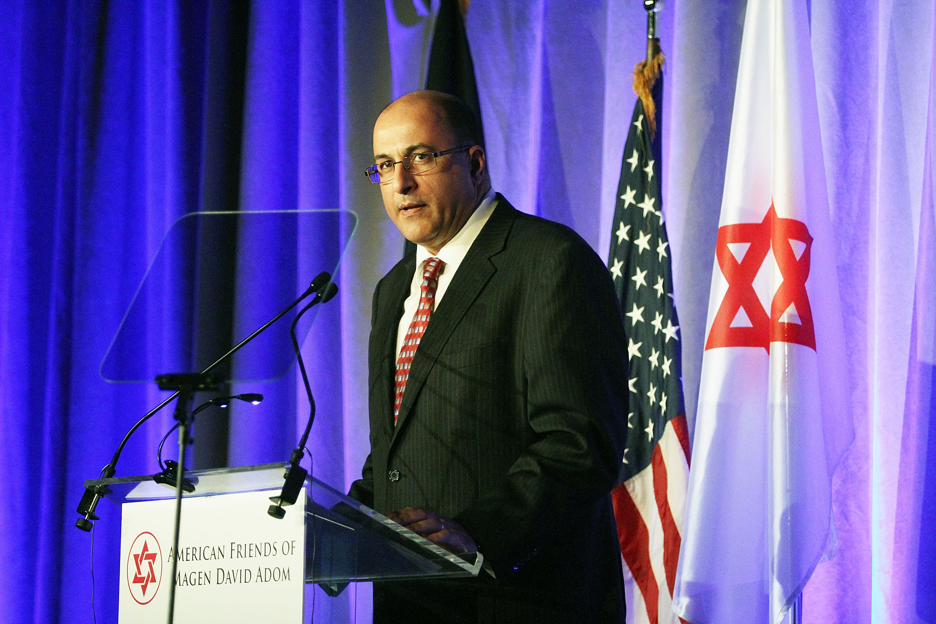 Ido Aharoni, Consul General of Israel in New York City on Dec. 2, 2014.