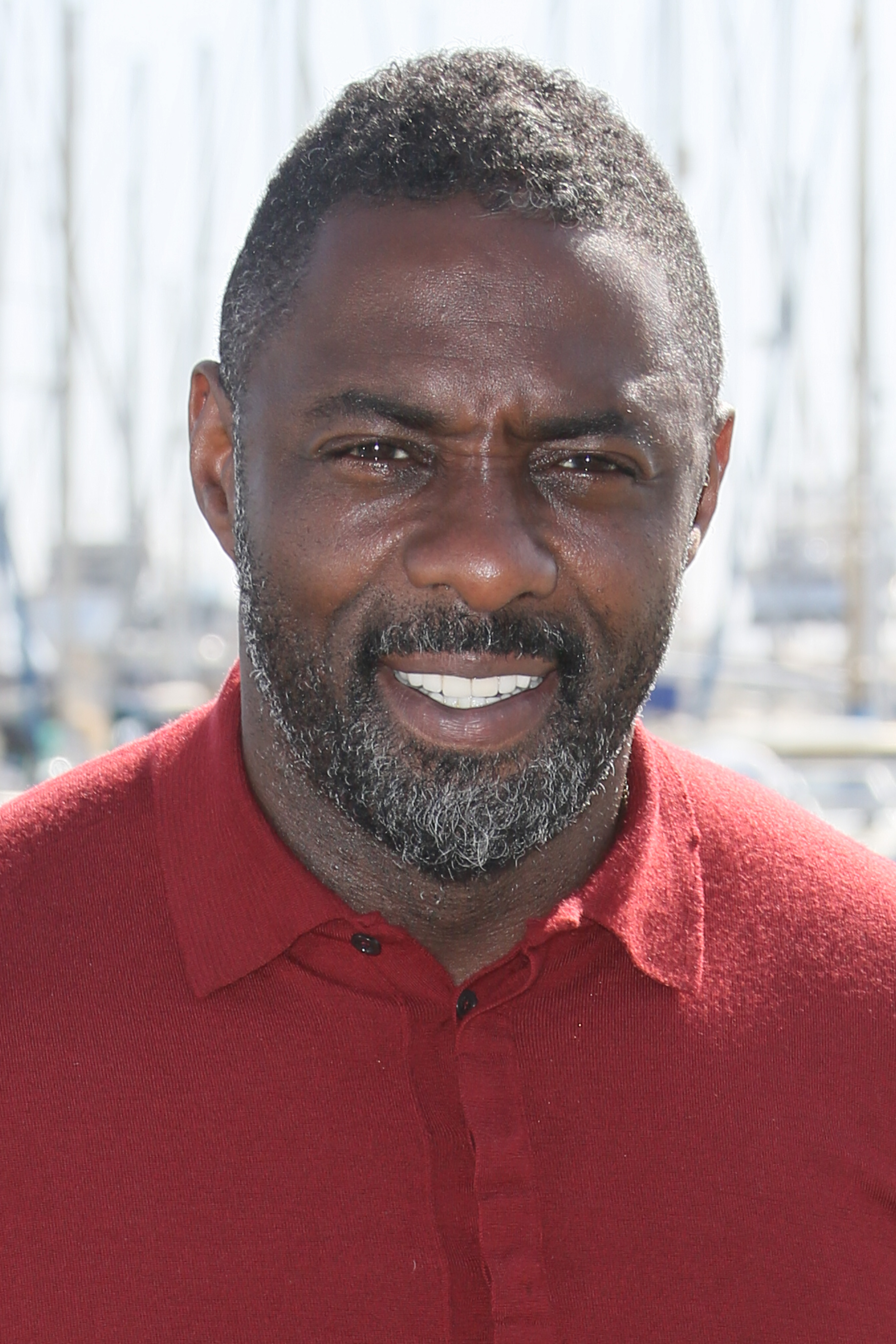 Idris Elba at  Mandela, My Dad And Me  photocall as part of MIPTV 2015 in Cannes, France on April 14, 2015.