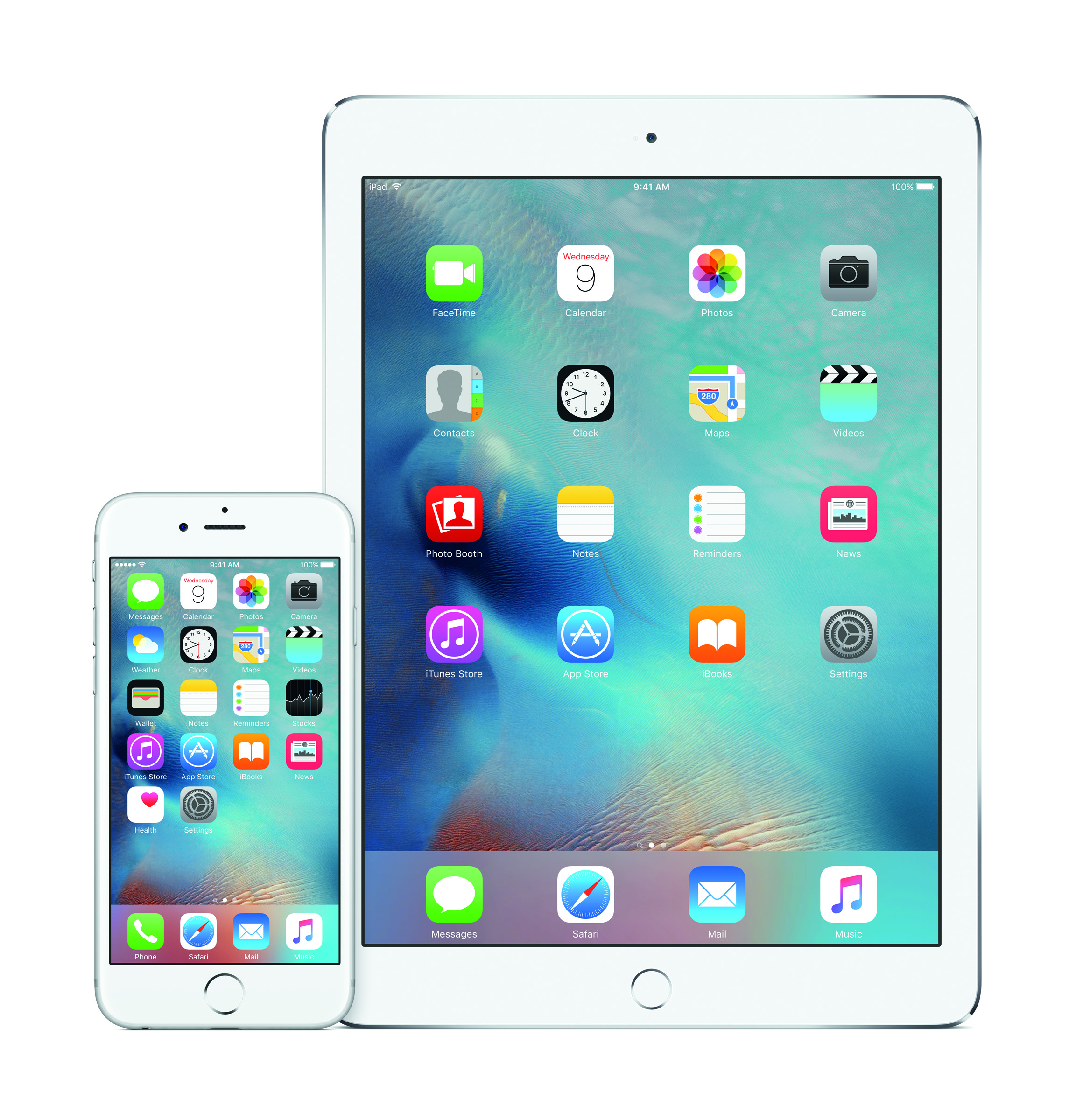 iOS 9, available as a free update for iPhone, iPad and iPod touch