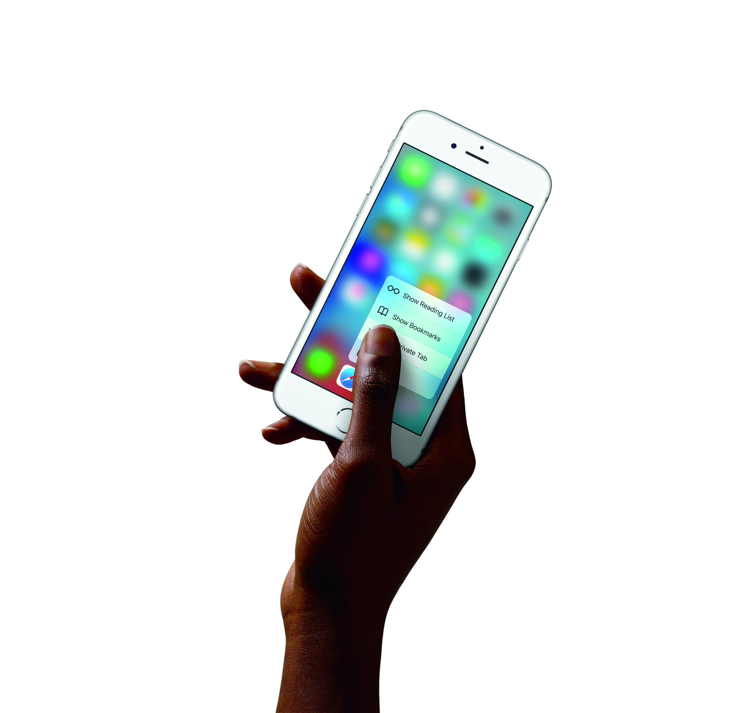 The iPhone 6S's new 3D multi-touch interface