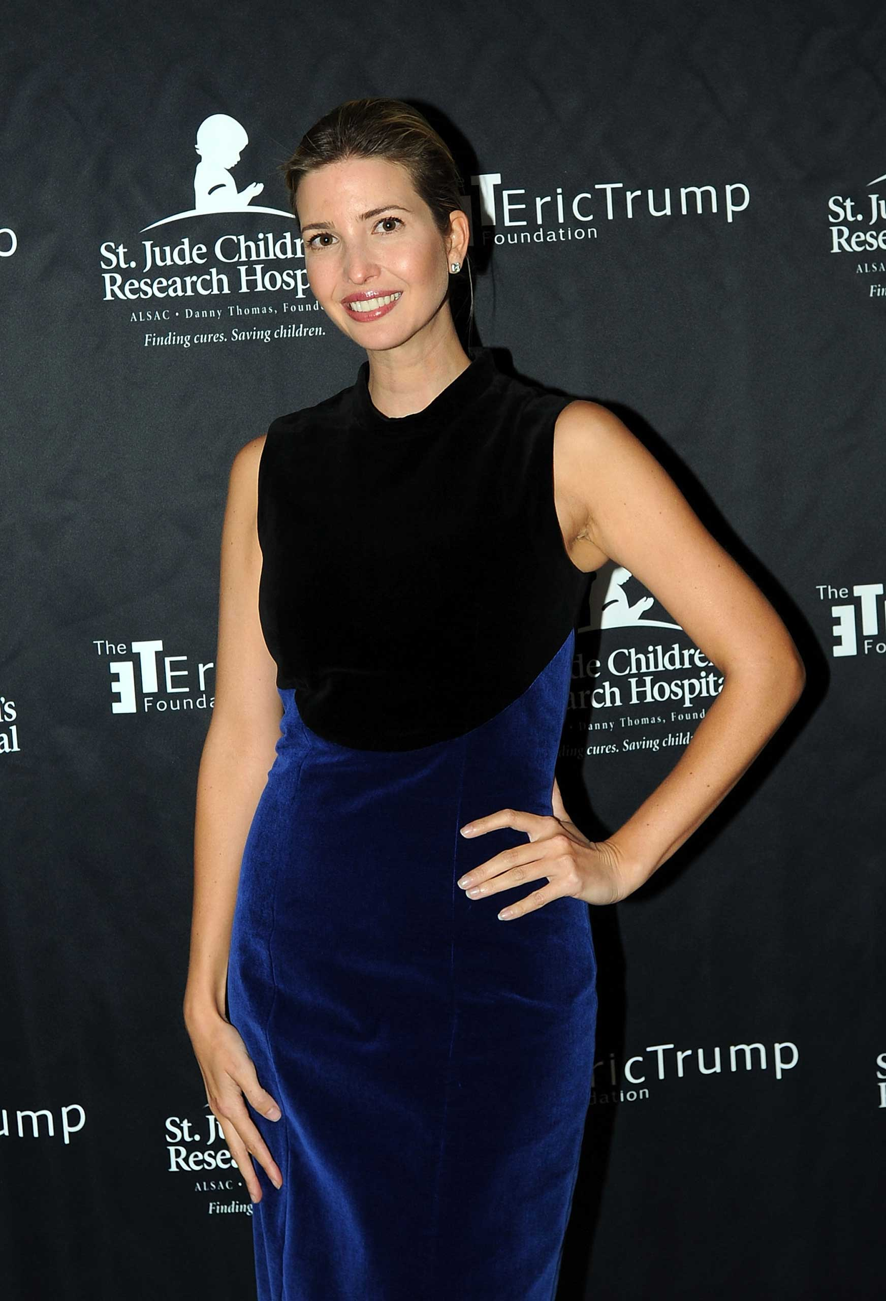 Ivanka Trump attends the 9th Annual Eric Trump Foundation golf invitational at Trump National Golf Club Westchester in Briarcliff Manor City, on Sept. 21, 2015