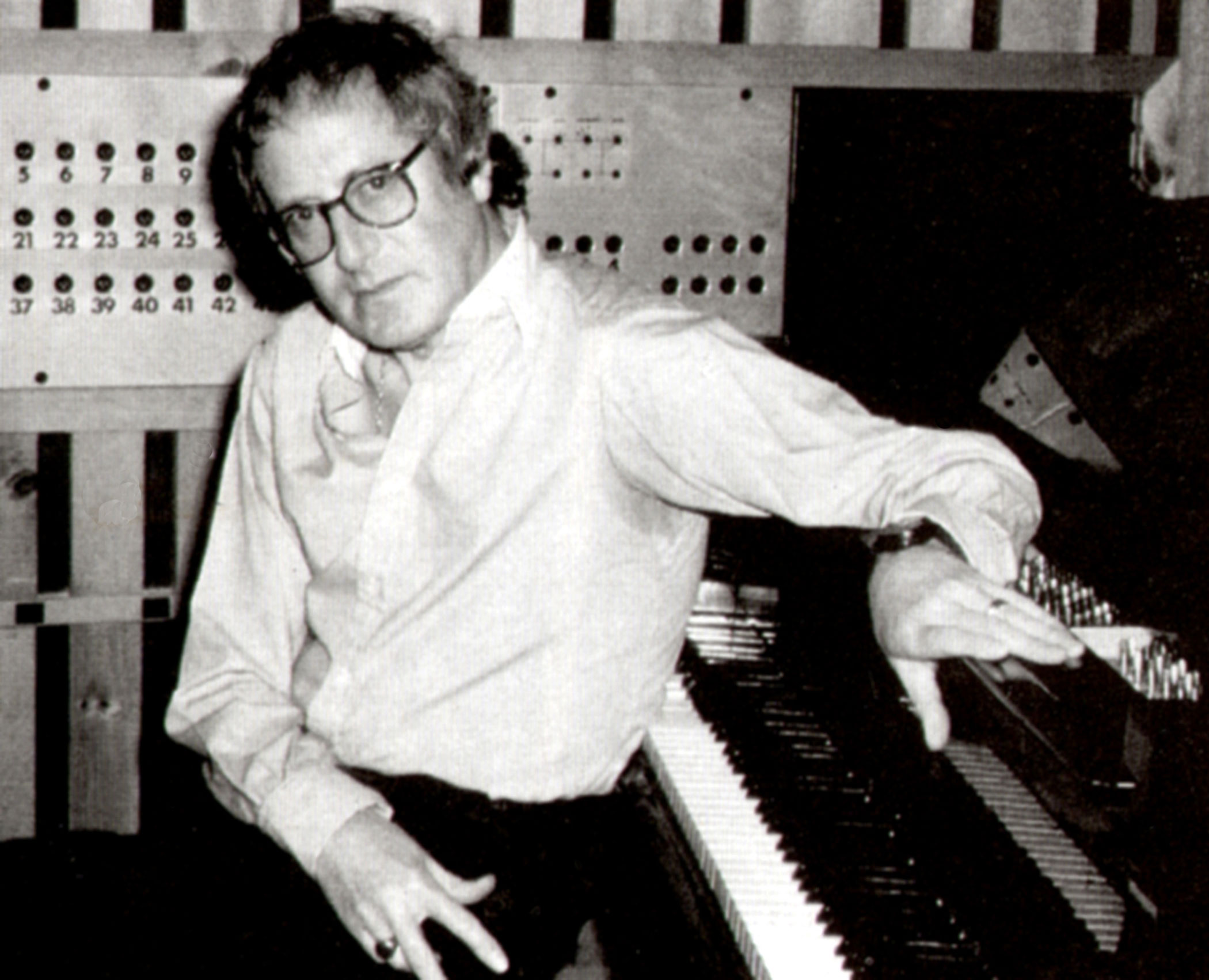 <b>John Barry</b> composed the scores many of the earlier Bond films.