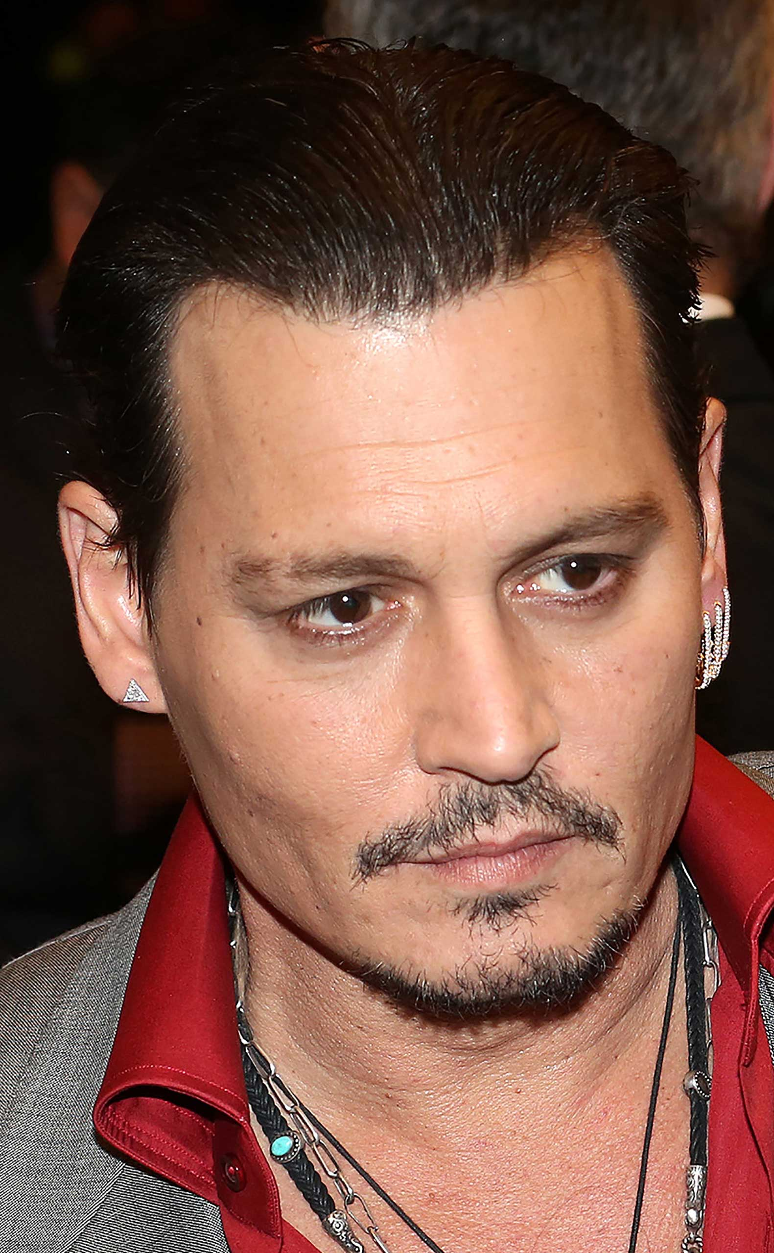 Johnny Depp attends the 'Black Mass' premiere during the 2015 Toronto International Film Festival at The Elgin on September 14, 2015, in Toronto.