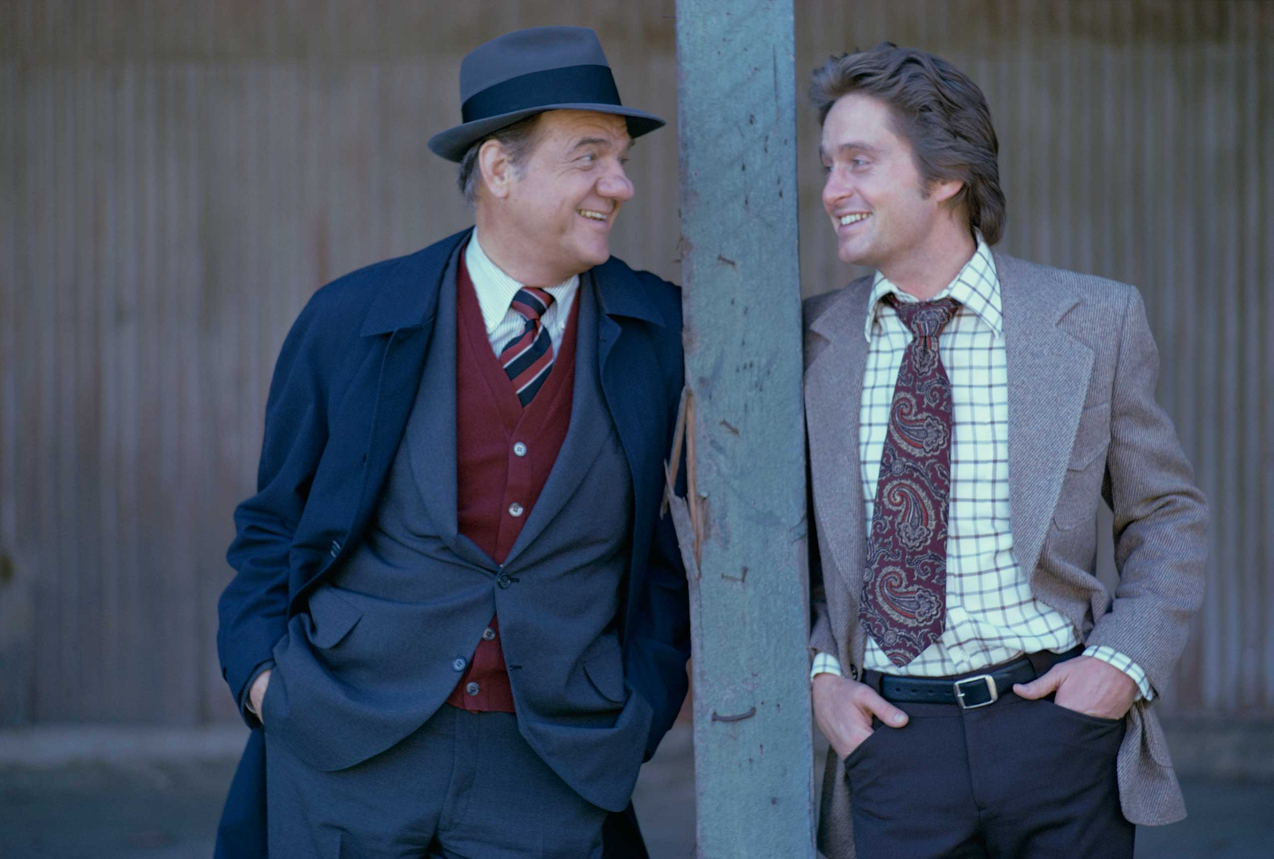 <b>Karl Malden and Michael Douglas</b>Photographed for TV Times in 1974.                                   The crime-fighting duo from the classic U.S. series, <i>The Streets of San Francisco</i>.