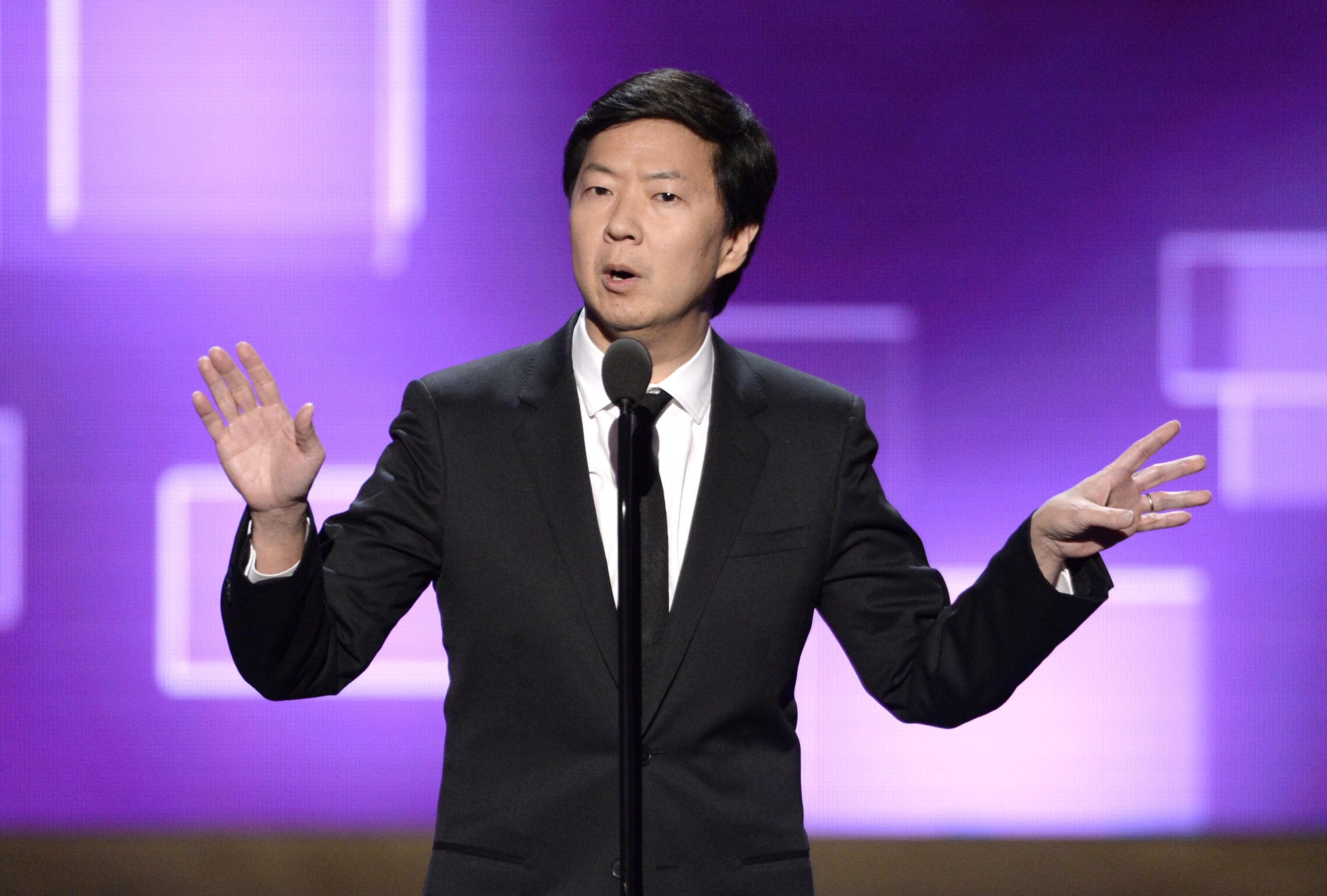 Ken Jeong at the Creative Arts Emmy Awards on Sept. 12 in Los Angeles.