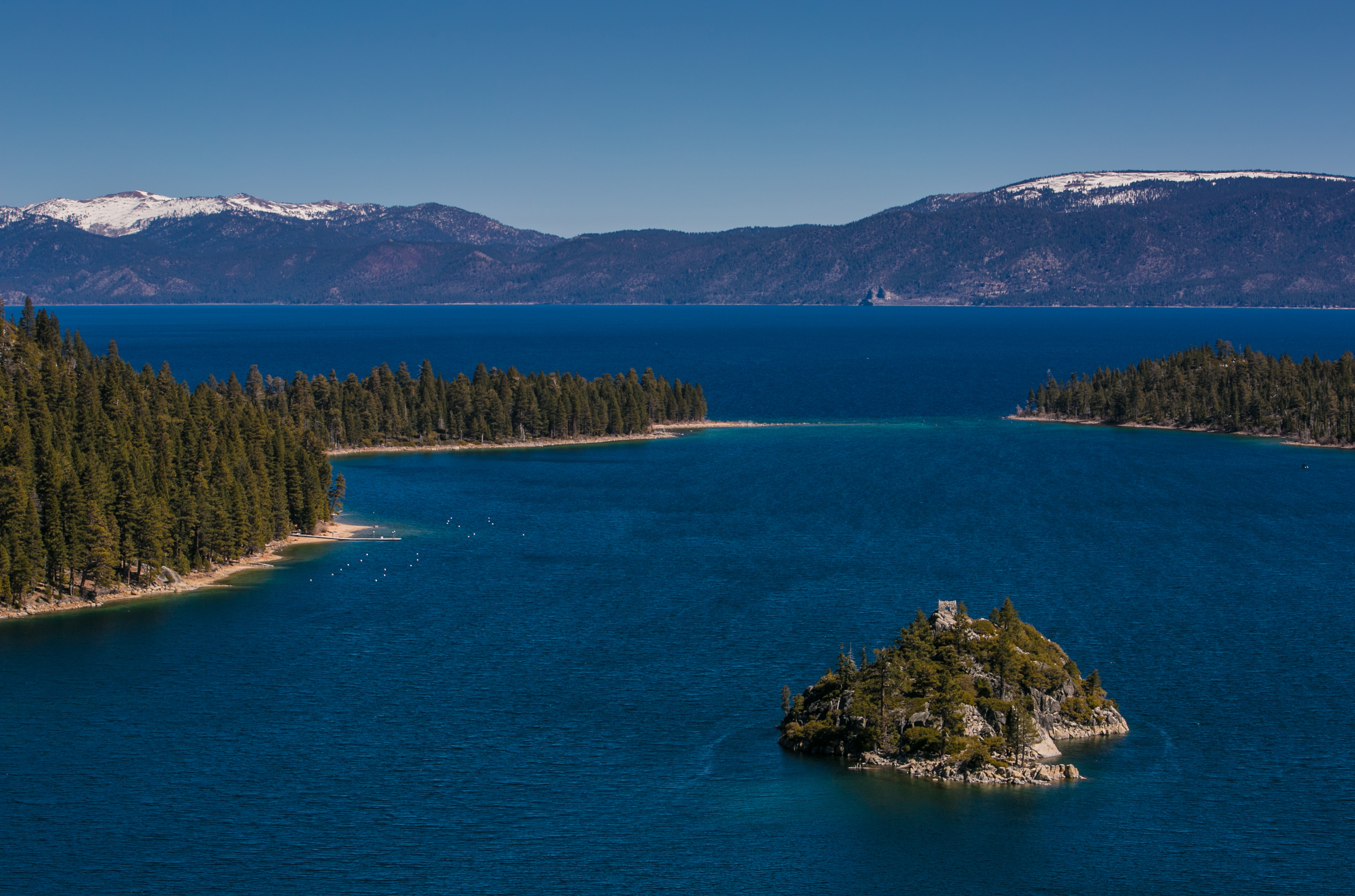Lake Tahoe viewed on March 17, 2014, in South Lake Tahoe, Calif.