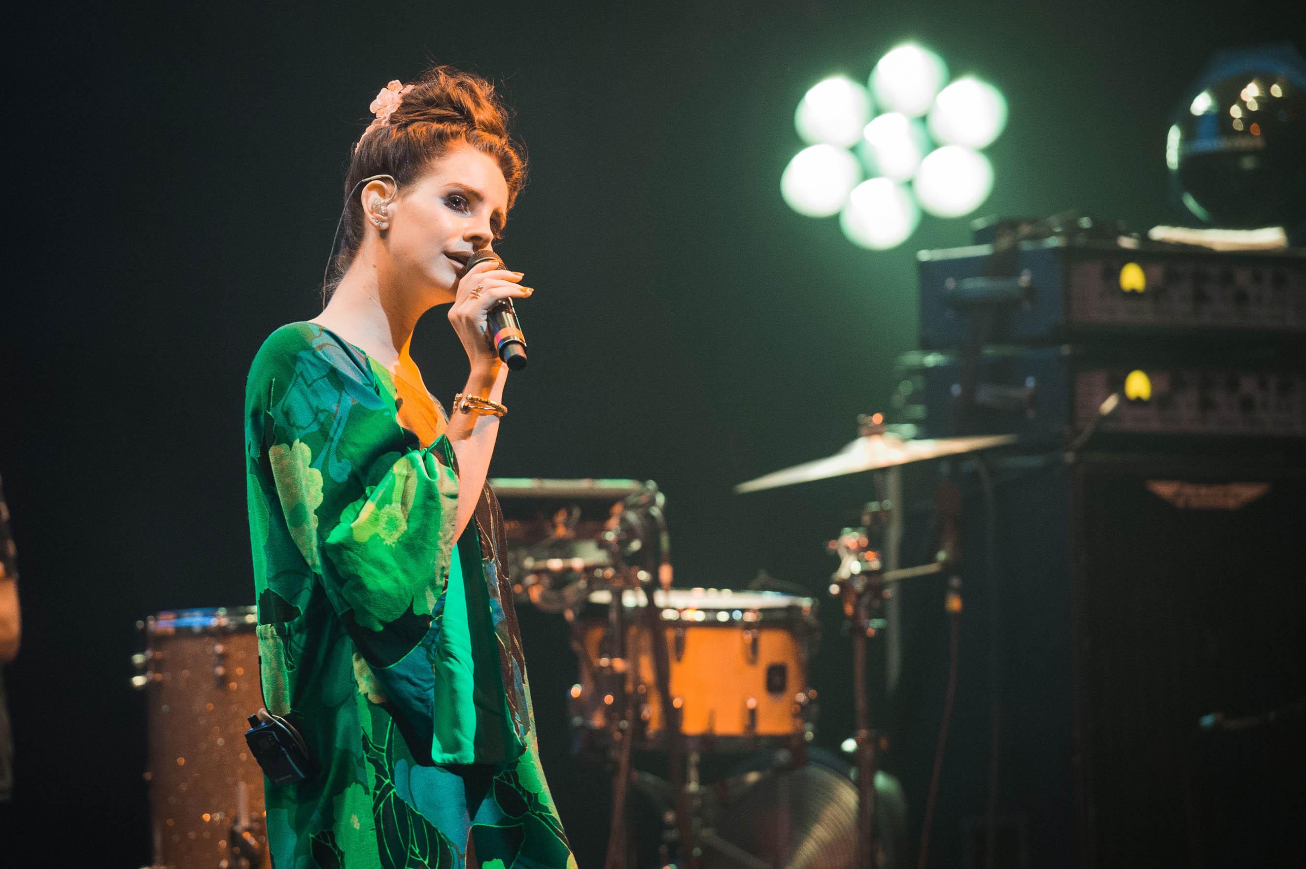 On her third album, out now, Del Rey is still pop's most polarizing flower child