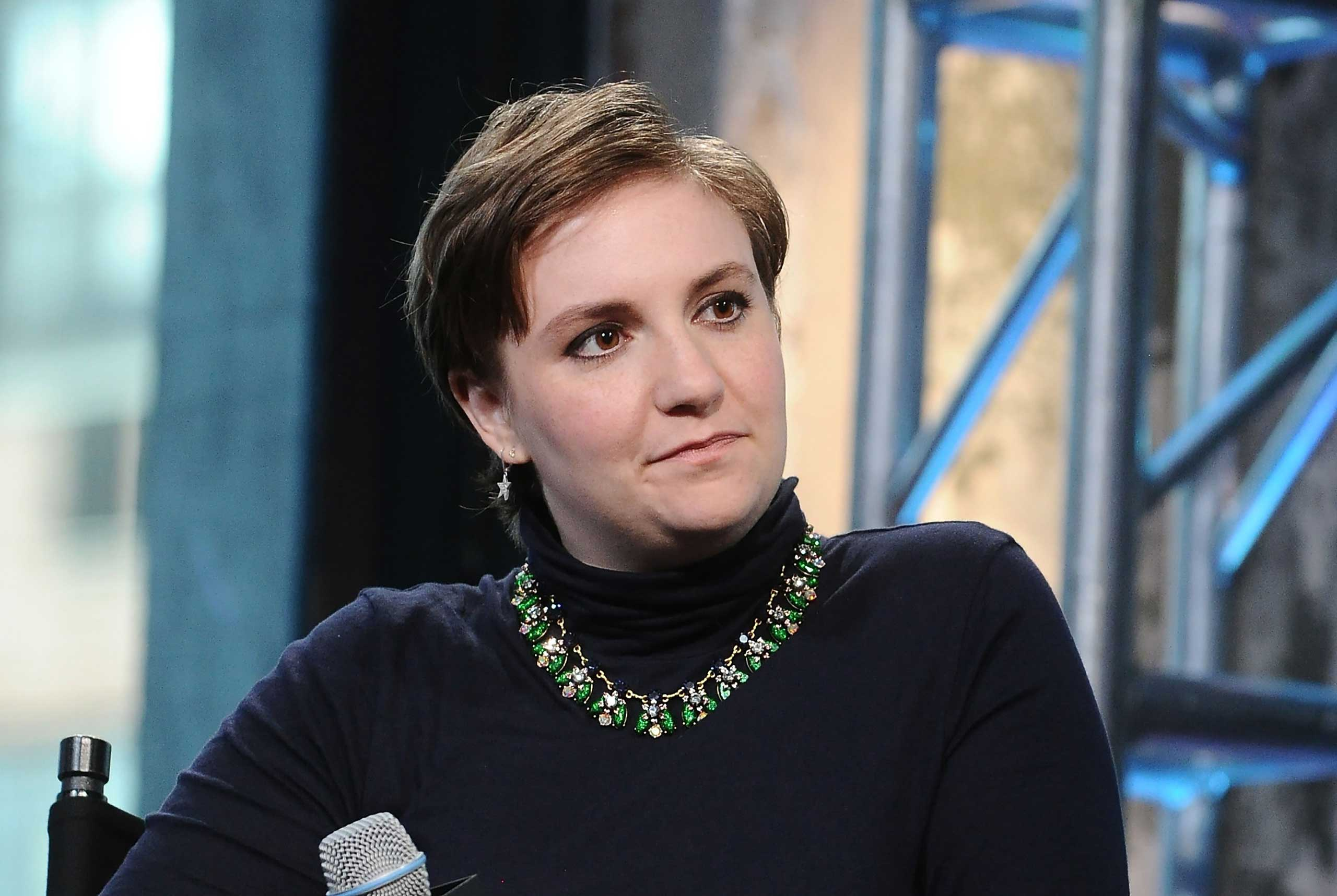 Lena Dunham in New York City, on Sept. 24, 2015.