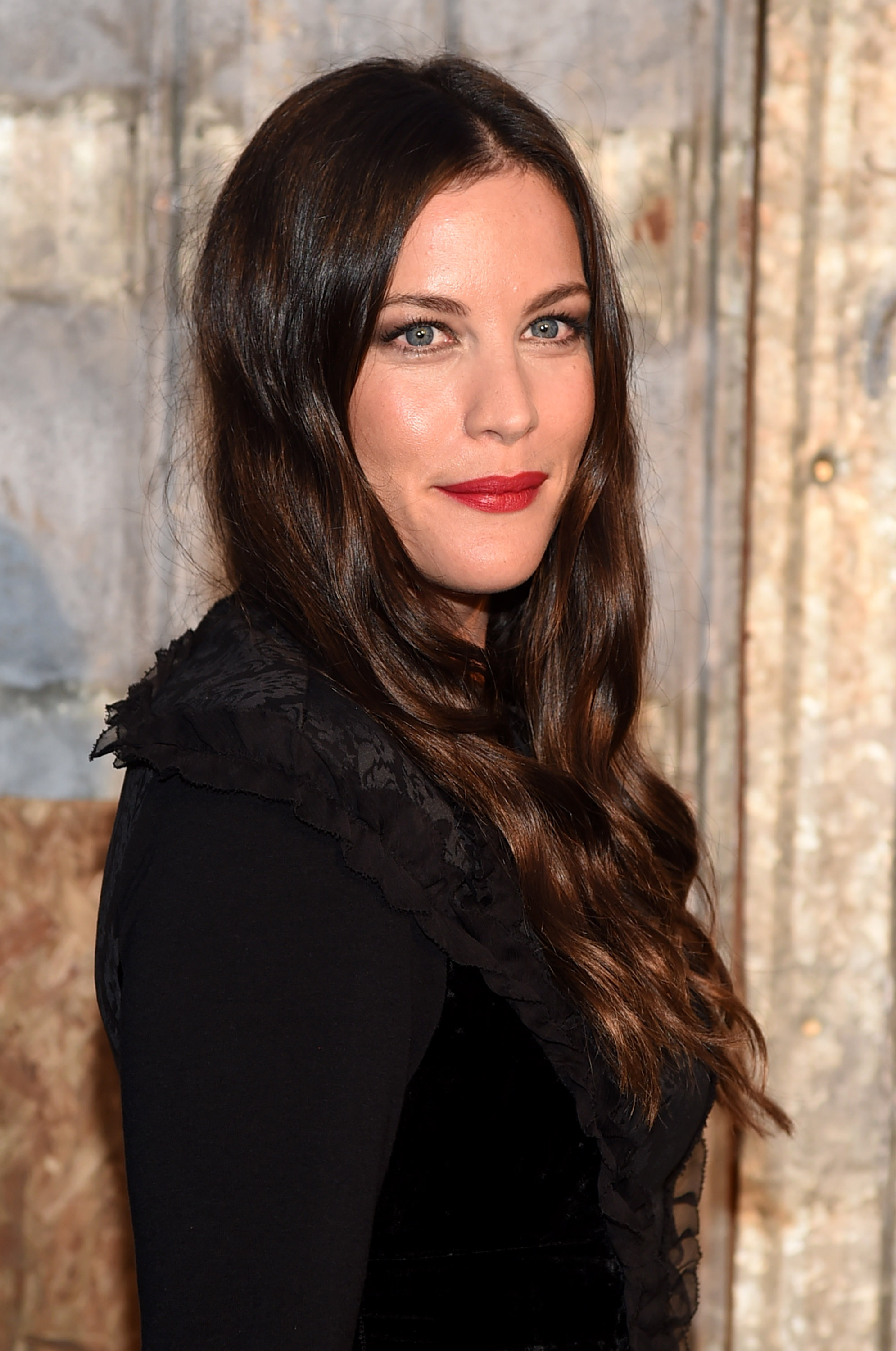 Liv Tyler attend the Givenchy fashion show during Spring 2016 New York Fashion Week at Pier 26 at Hudson River Park on Sept.11, 2015 in New York City.