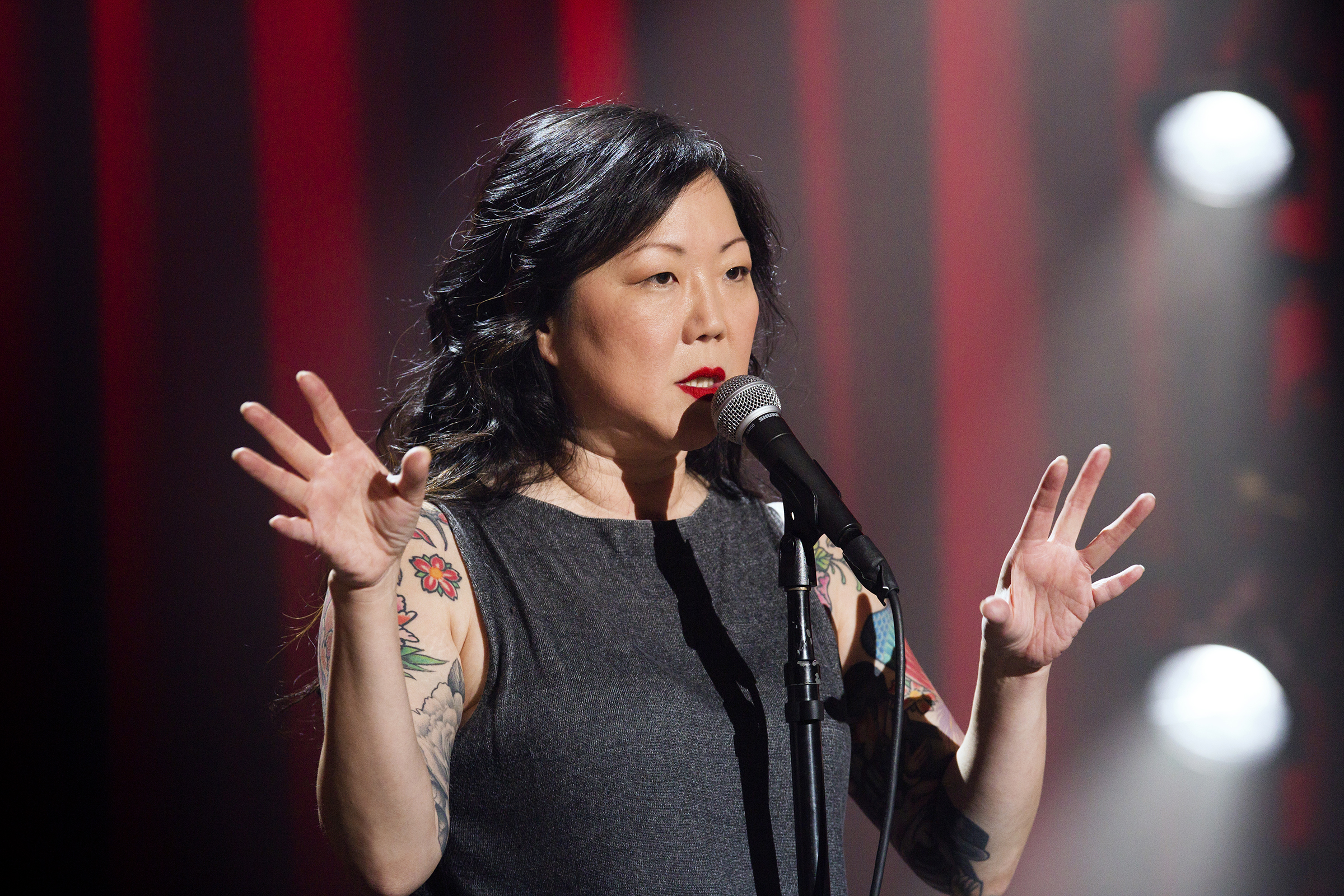 Margaret Cho live at the at the Gramercy Theater in New York City in Margaret Cho: psyCHO.