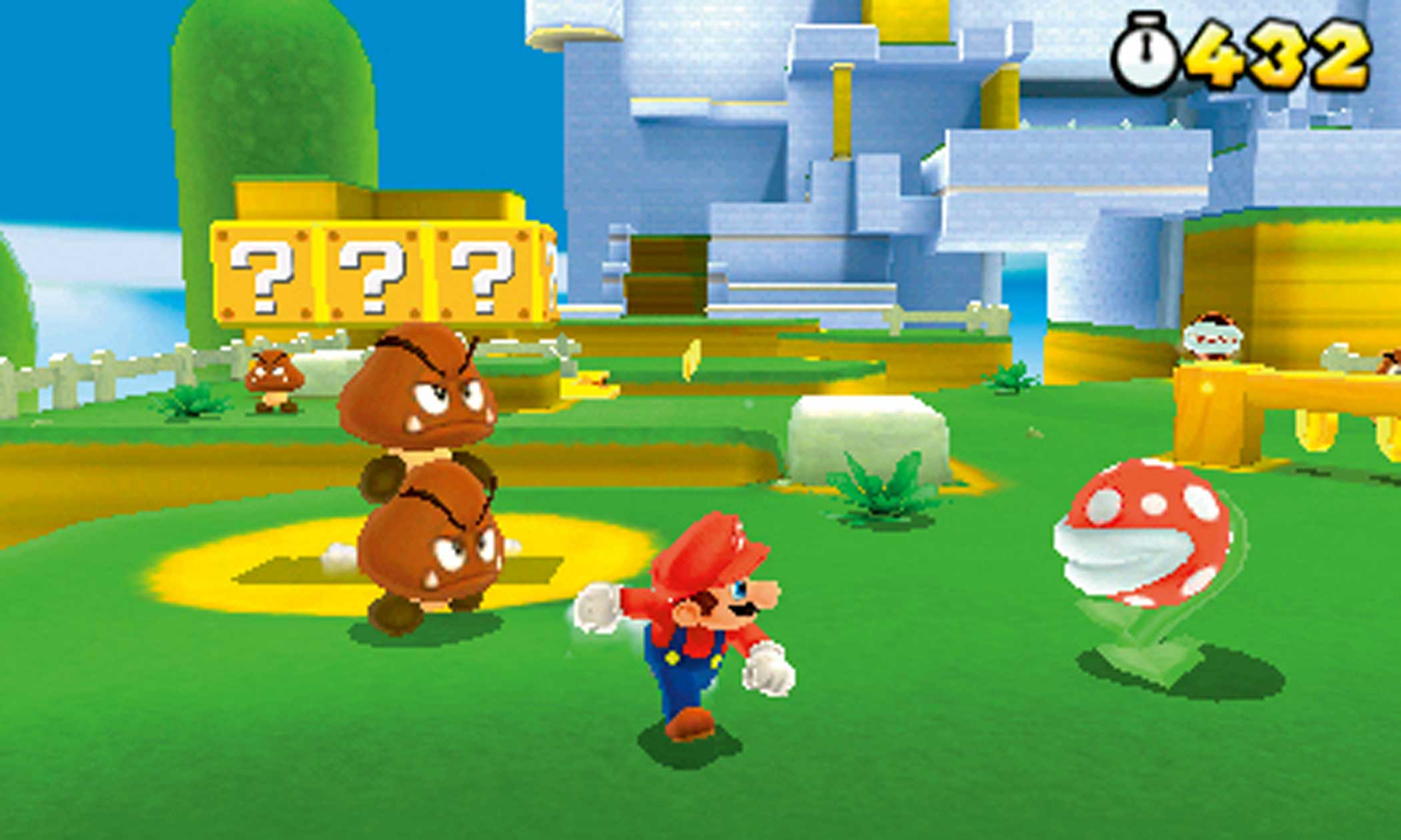 2011: Super Mario 3D Land                                                              Nintendo's 3DS had a rough, almost disastrous start, but after a hardware price cut and the arrival of this cleverly wrought, quasi-3D vamp on classic Mario gameplay tropes (it mixed 2D and 3D level design), sales soared.