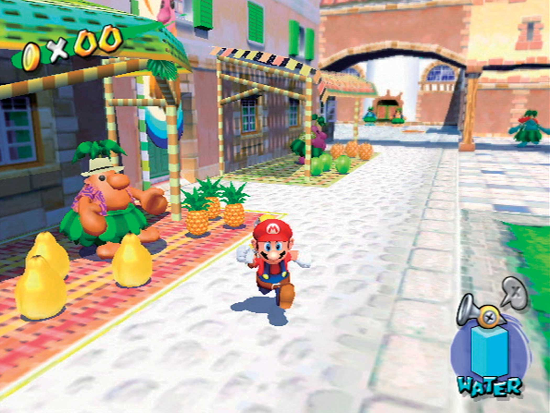 2002: Super Mario Sunshine                                                              Nintendo's pollution-sluicing followup to Super Mario 64 sold less well than it might have (just over 5 million copies, the worst-selling Super Mario game), in large part because the system it debuted on--Nintendo's GameCube--couldn't compete with Sony's market-dominant PlayStation 2.