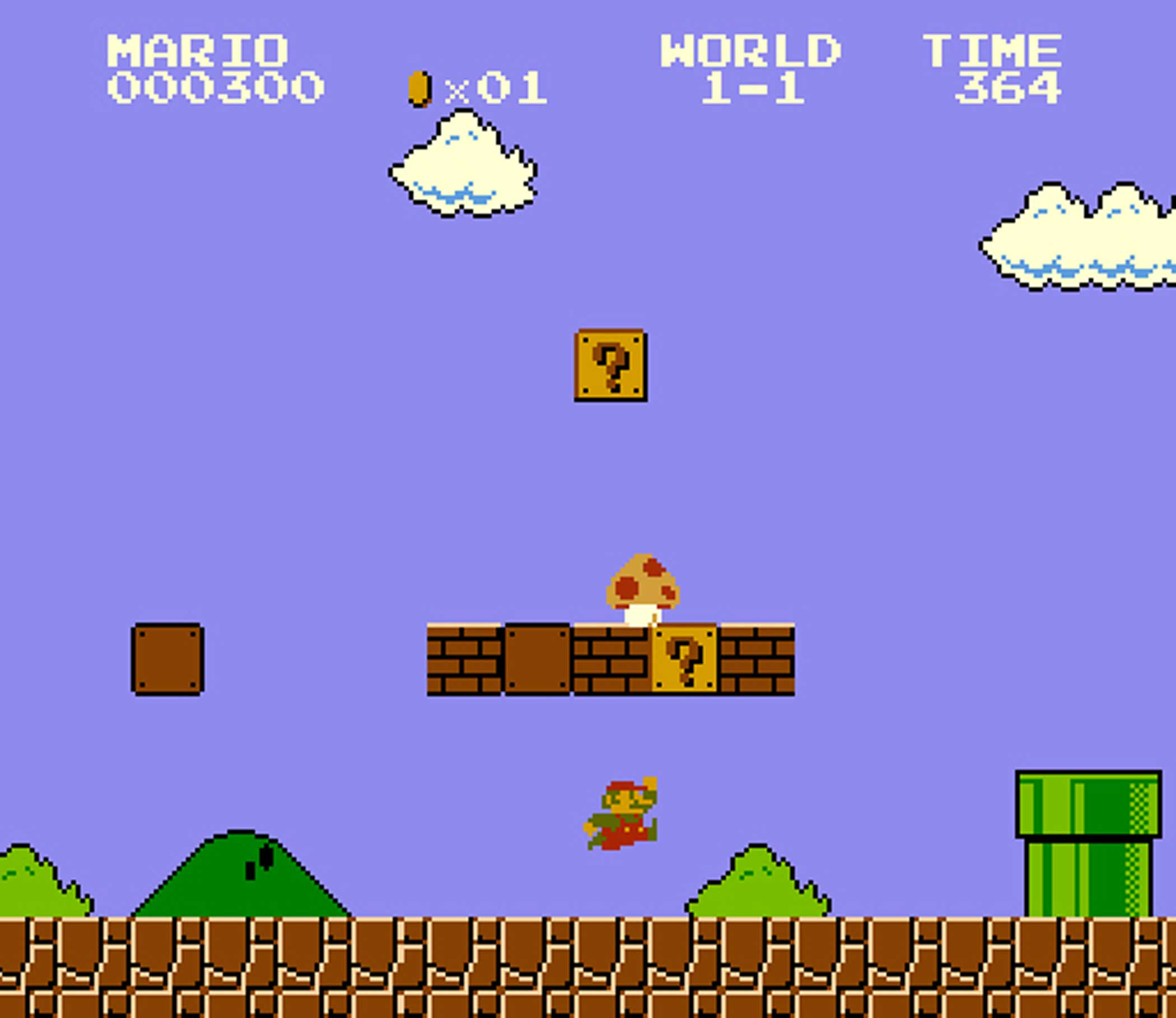 1985: Super Mario Bros.                                                              This is it, Nintendo luminary Shigeru Miyamoto's zany-looking masterpiece that launched a platforming revolution. It first appeared in Japanese and U.S. arcades in 1985, though Mario's debut was years earlier--in 1981's Donkey Kong, where he was known as  Jumpman.