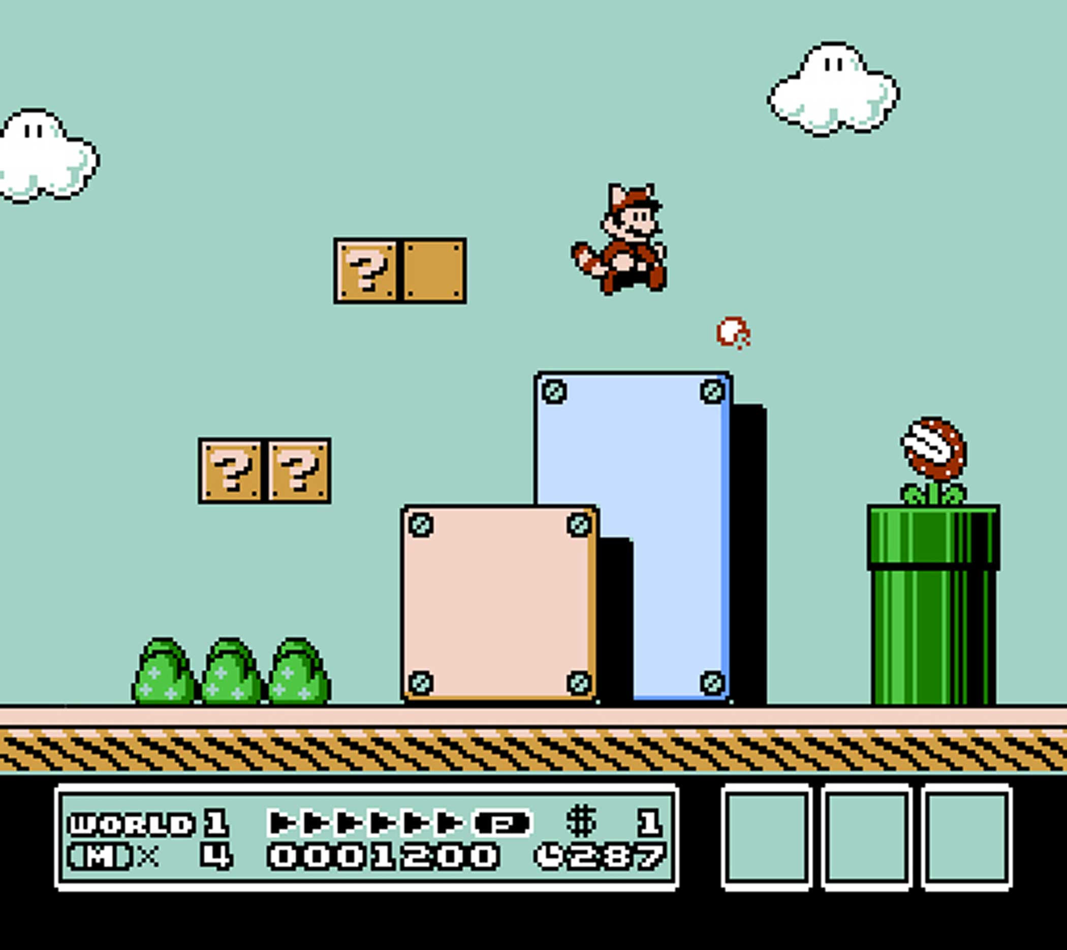 1990: Super Mario Bros. 3                                                              Originally released in Japan in 1988, Super Mario Bros. 3 is lauded by some as the series' finest installment. It's also the entry known for introducing iconic series power-ups like the Super Leaf, Tanooki Suit and Goomba's Shoe.