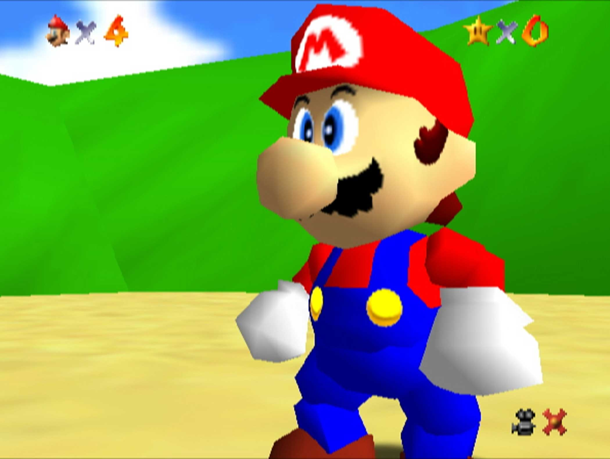 1996: Super Mario 64                                                              A revolutionary Nintendo 64 system-launcher and the first fully three-dimensional Mario game, Super Mario 64 did for 3D gaming what Super Mario Bros. had for sidescrollers a decade prior, ushering in a 360-degree control scheme that became the genre standard.