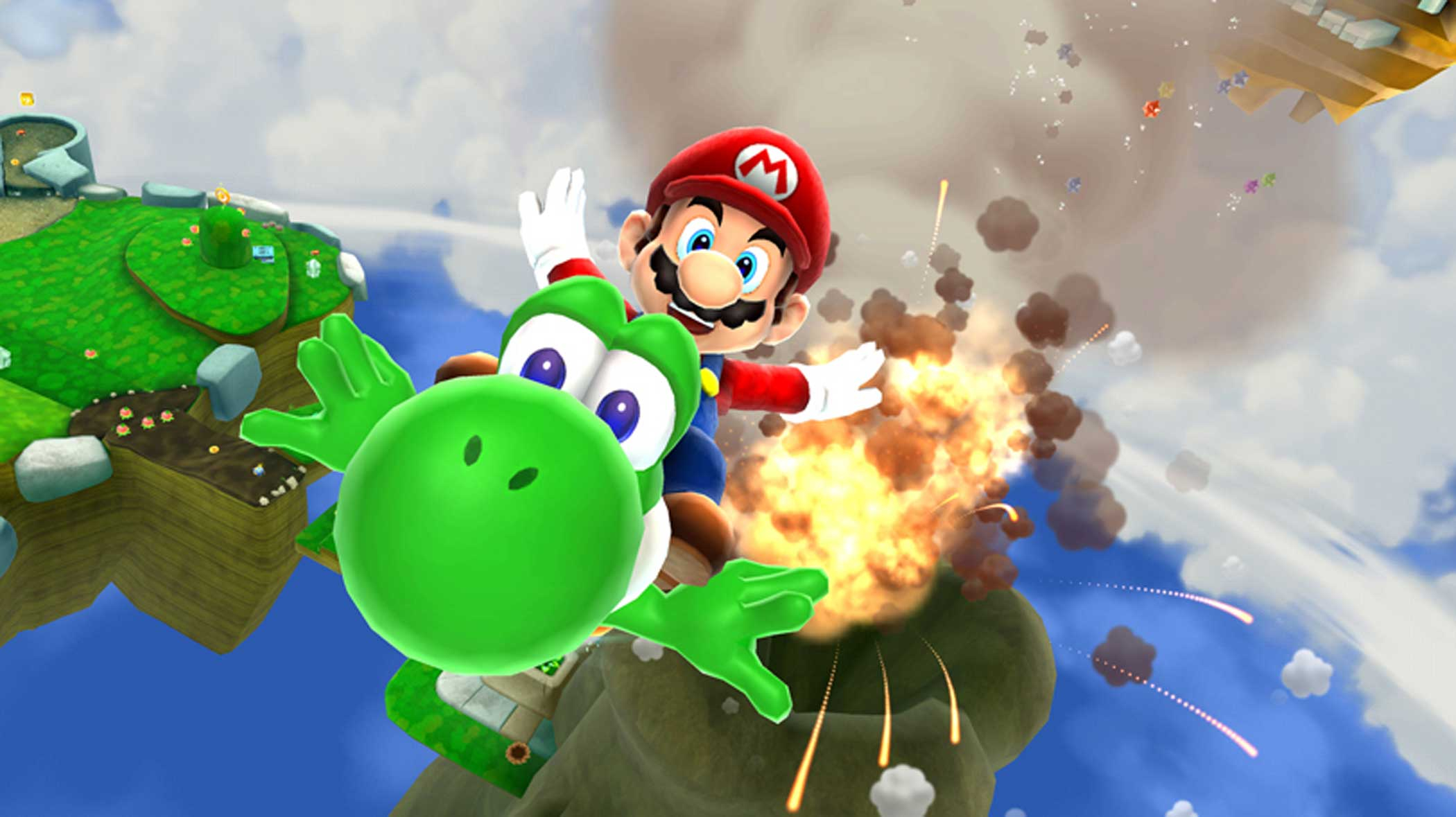 2010: Super Mario Galaxy 2                                                              Nintendo's second planet-pinballing 3D platformer proved two assumptions wrong: First, that a company obsessed with trailblazing wouldn't repeat itself, and two, that repetition (based on a fantastic idea) is necessarily a bad thing.