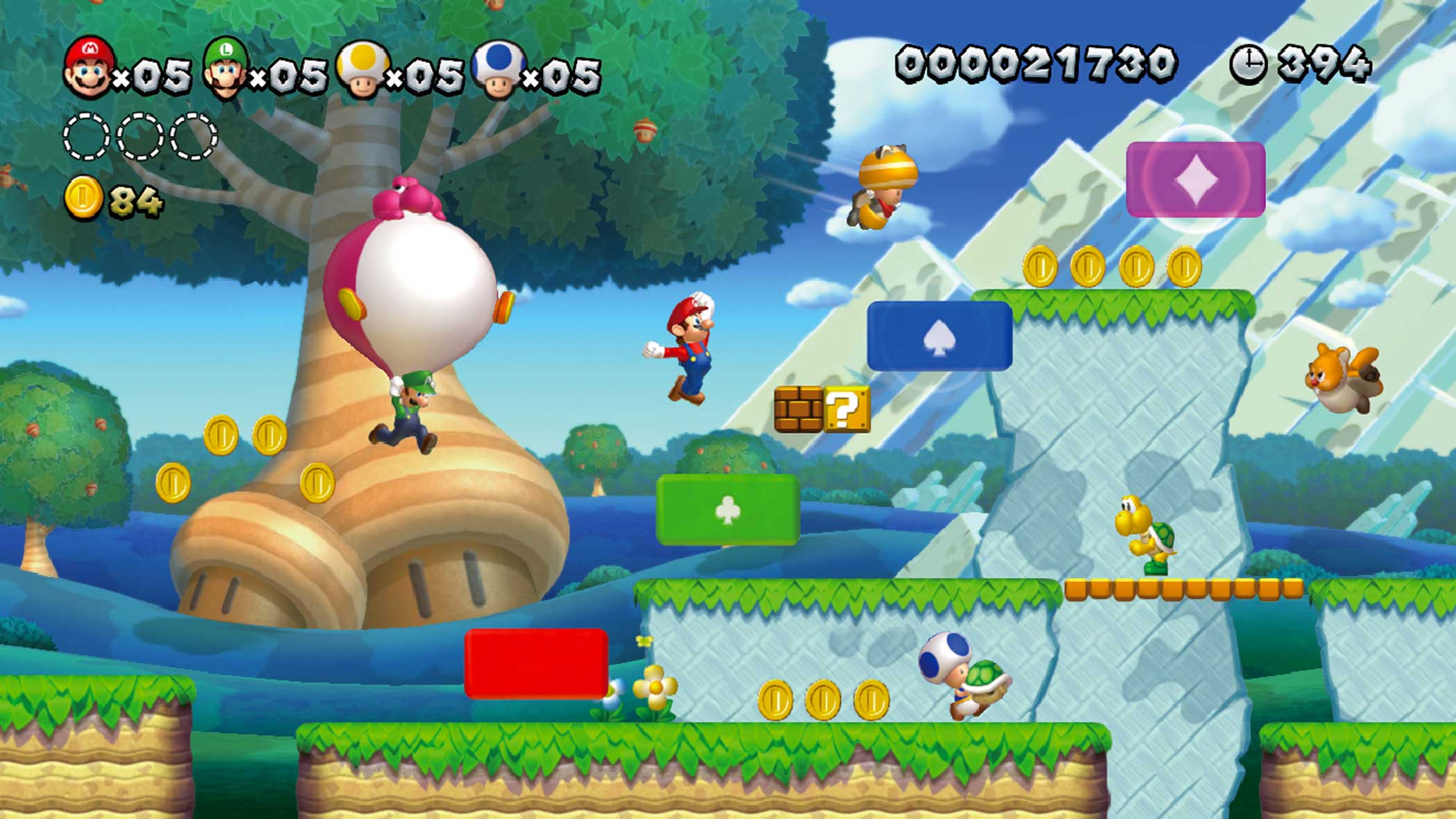 2012: New Super Mario Bros. U                                                              Benefitting from the Wii U's higher-definition visual output, New Super Mario Bros. U is one of the prettiest Mario games Nintendo's released, and though it relies heavily on series tropes, contains some of the smartest levels Nintendo's yet designed.