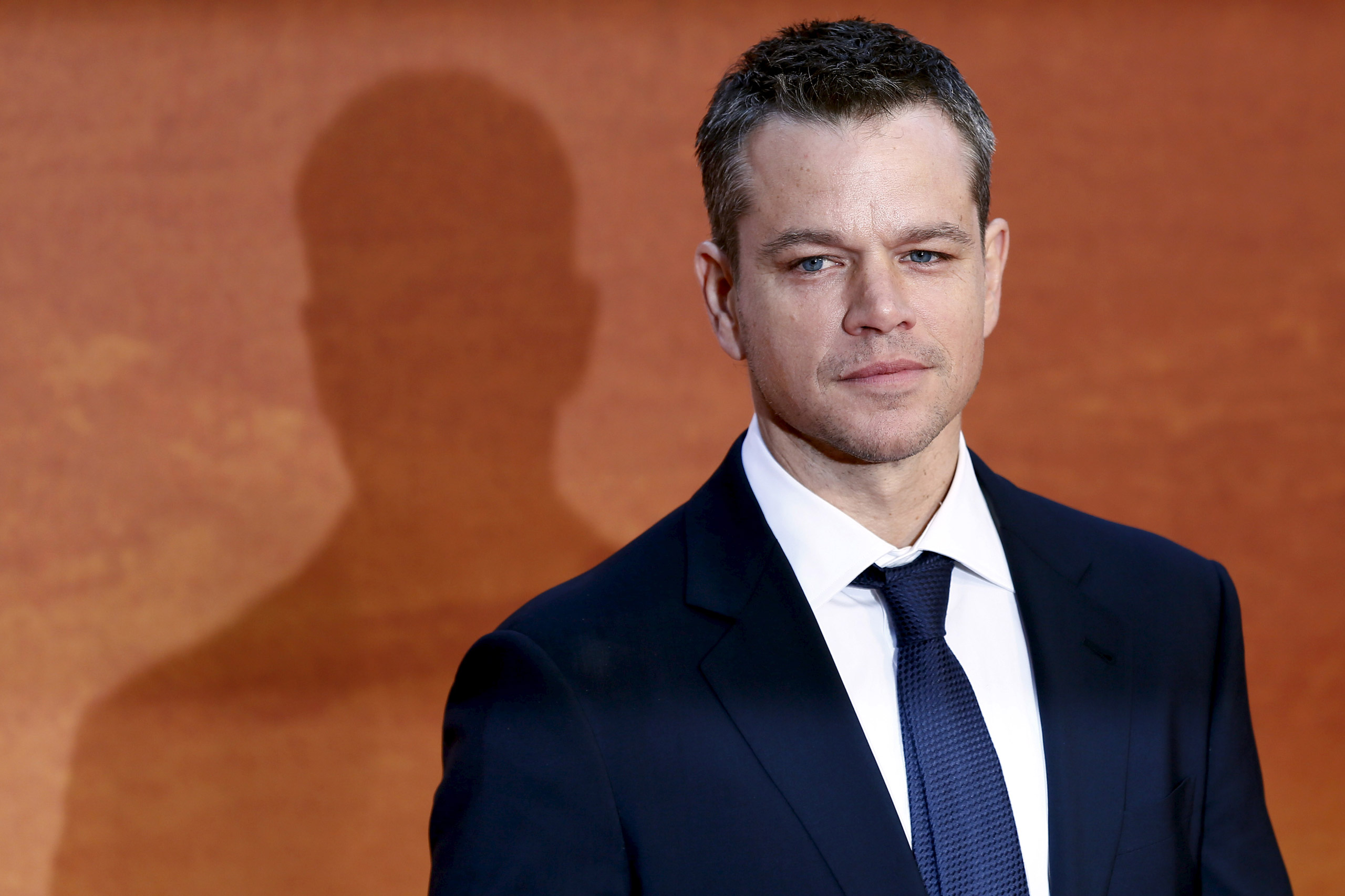 Matt Damon arrives for the UK premiere of  The Martian  at Leicester Square in London on Sept. 24, 2015.