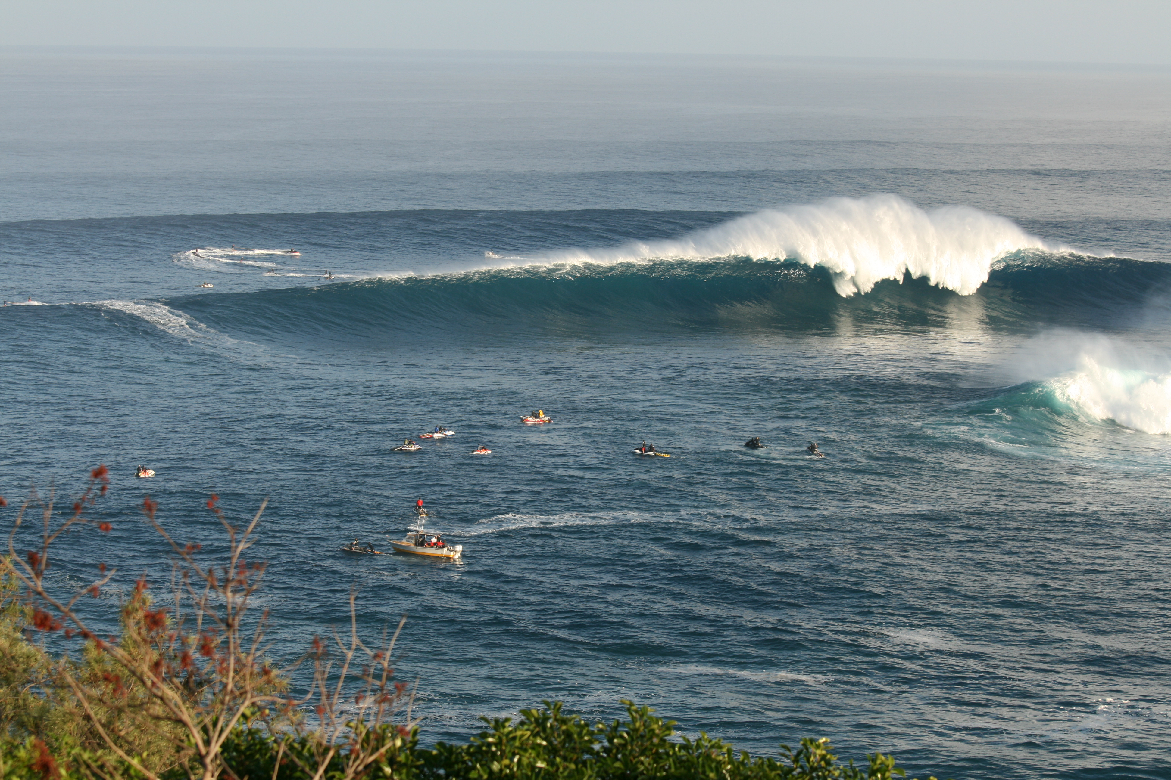 Biggest Surfing Winter Swell In Past Six Years Hits Hawaii