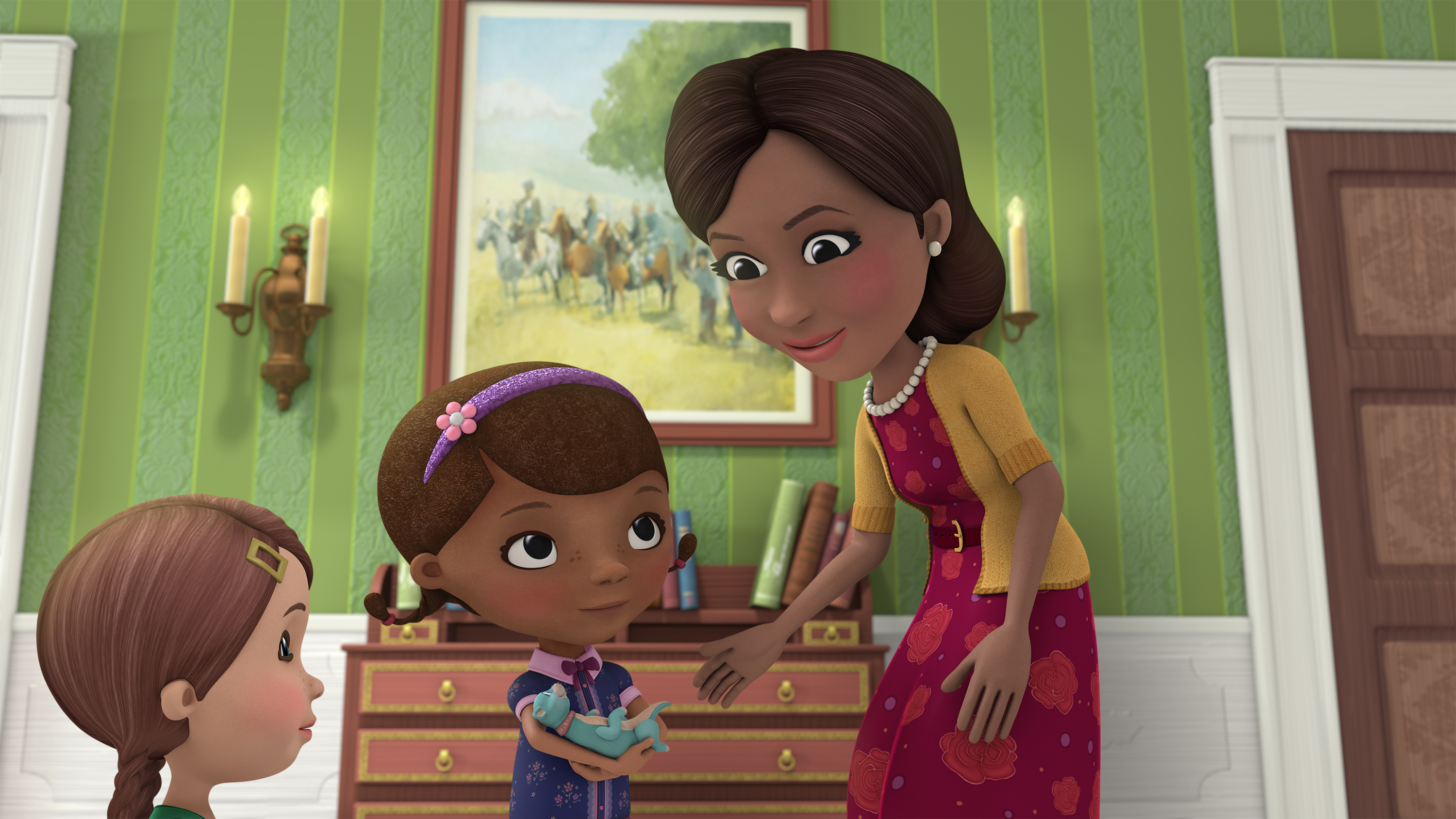 First Lady Doc Mcstuffins Michelle Obama To Appear On Show Time