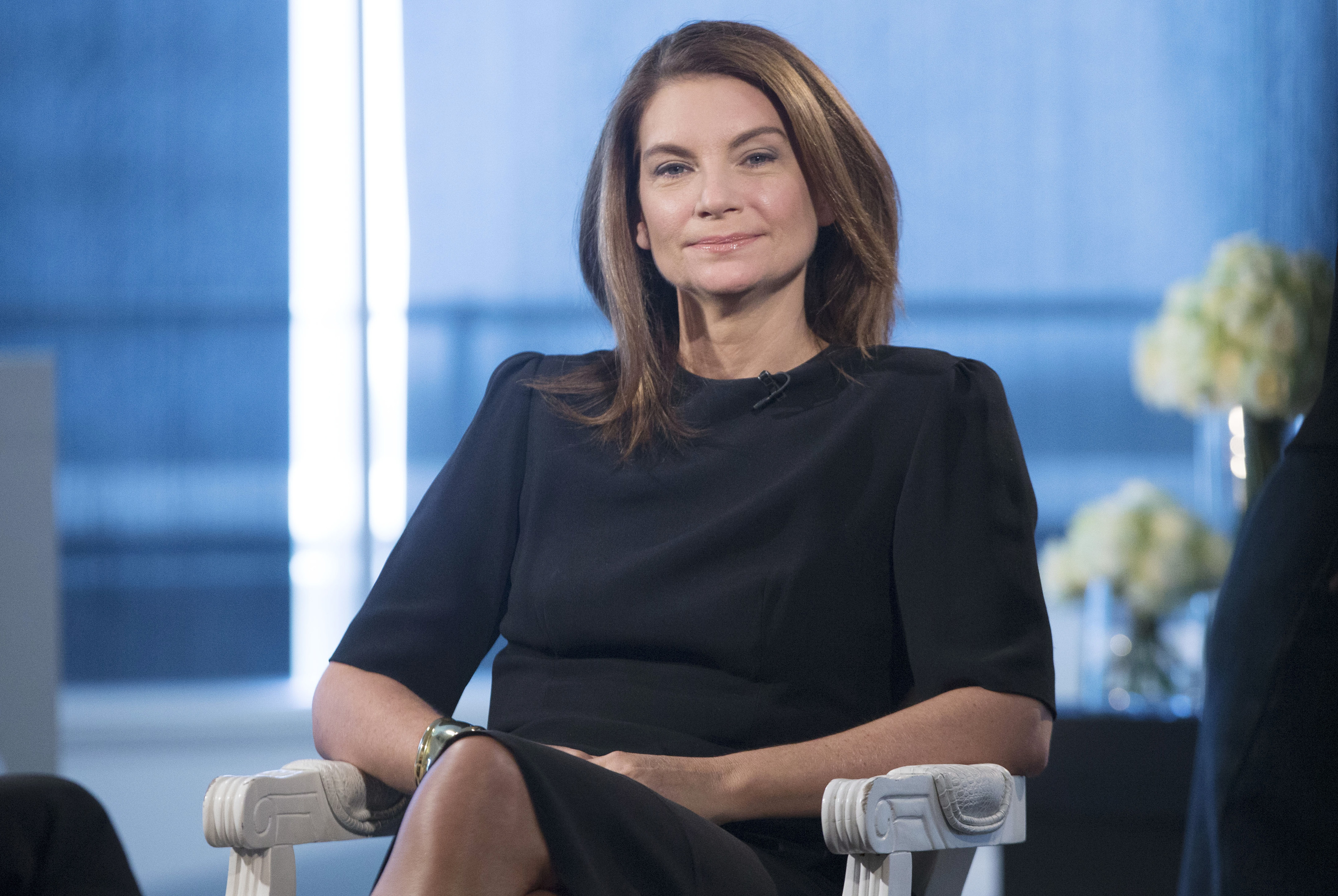 Natalie Massenet, founder and chairman of Net-A-Porter Ltd, pauses during an interview at the company's head office in London on June 18, 2015.