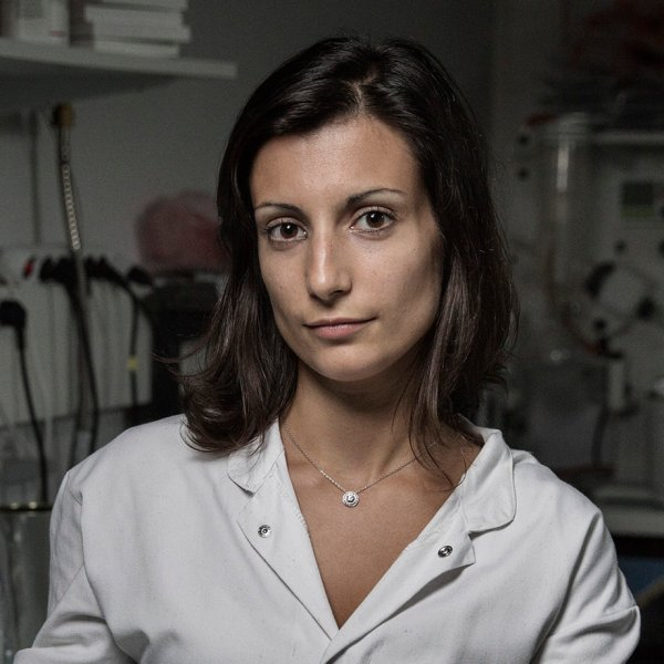 Maria Pereira, a Portuguese medical researcher who developed a glue that can be used in heart surgery, stands for a portrait at the Gecko Biomedical laboratory in Paris, France, on Sept. 1, 2015.