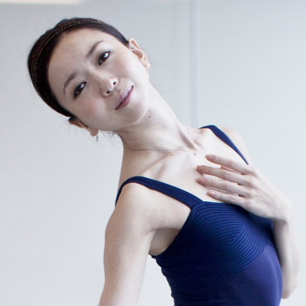 Portrait of Yuriko Kajiya, 31, a  Japanese born ballet dancer now a principal dancer with the Houston Ballet. She is preparing for her lead role in Manon. Houston , Texas.