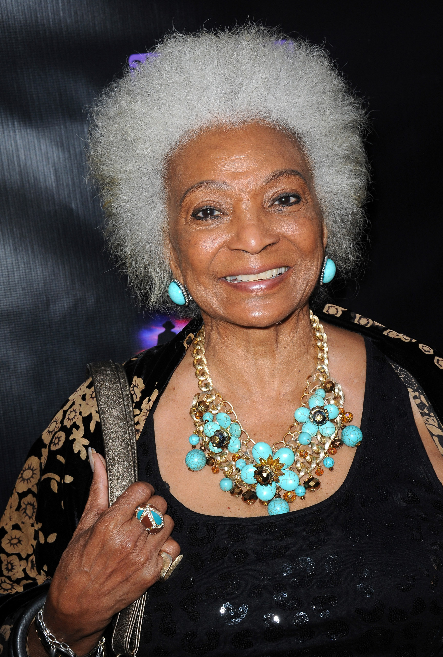 Actress Nichelle Nichols attends the Malcolm McDowell Series Of  Q&A Screenings for  Star Trek: Generations  in Glendale, Calif., on Apr. 15, 2014.