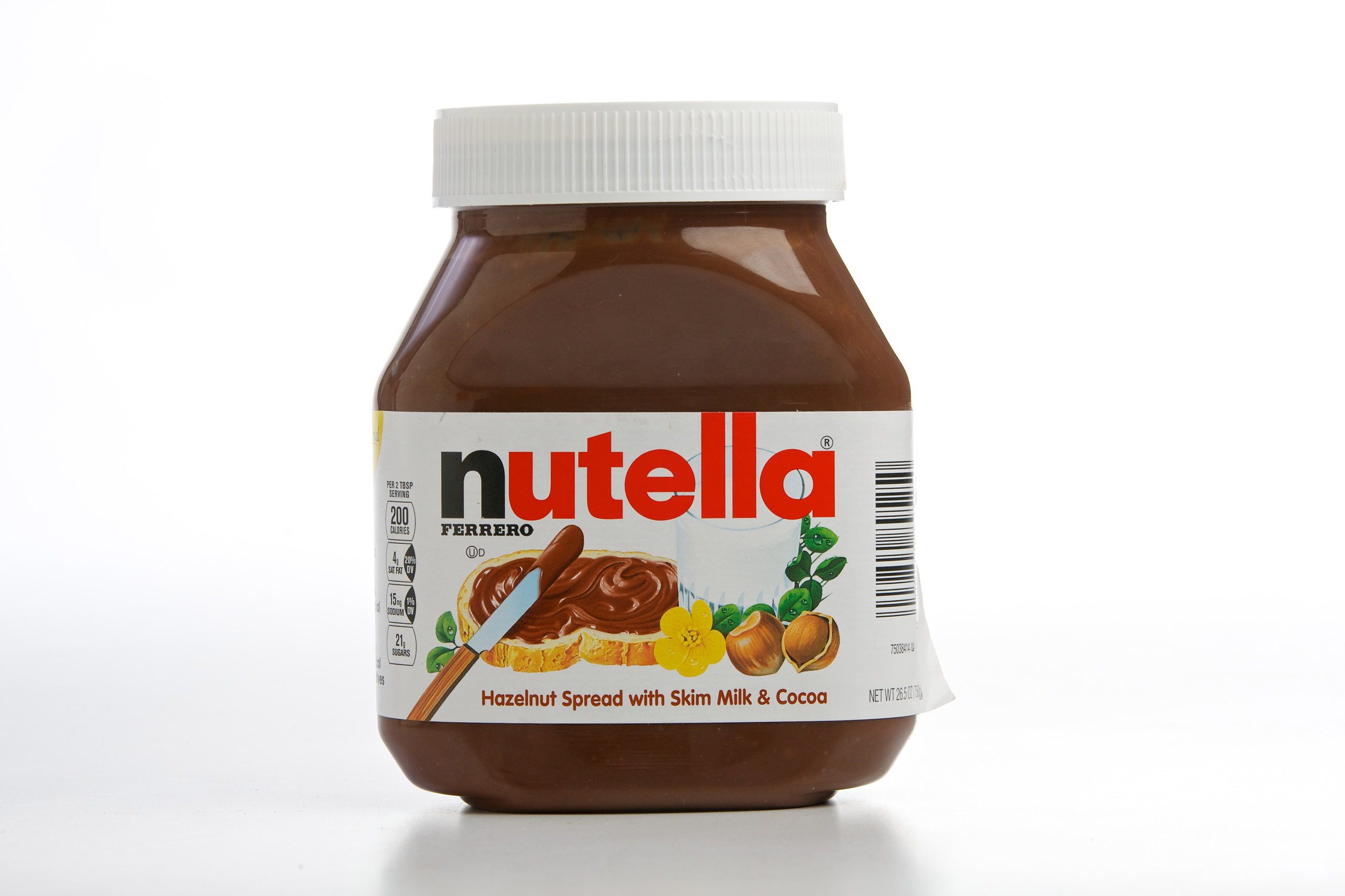 Nutella photographed in Washigton on May 28, 2014.